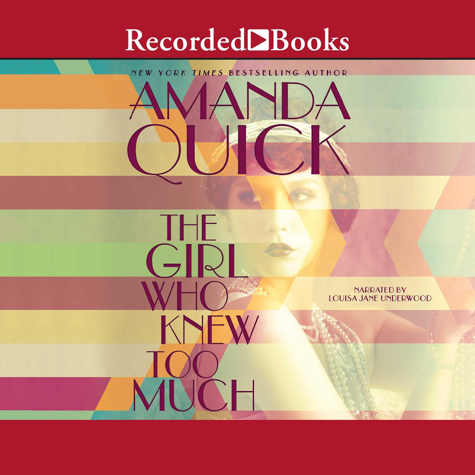 Printable The Girl Who Knew Too Much Audiobook Cover Art