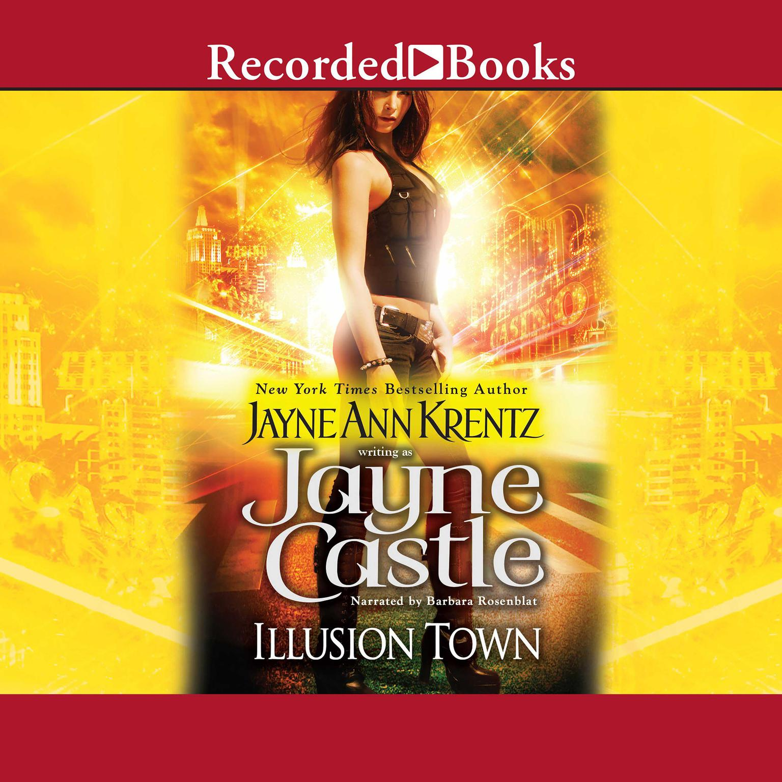 Printable Illusion Town Audiobook Cover Art