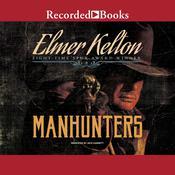 Manhunters Audiobook, by Elmer Kelton