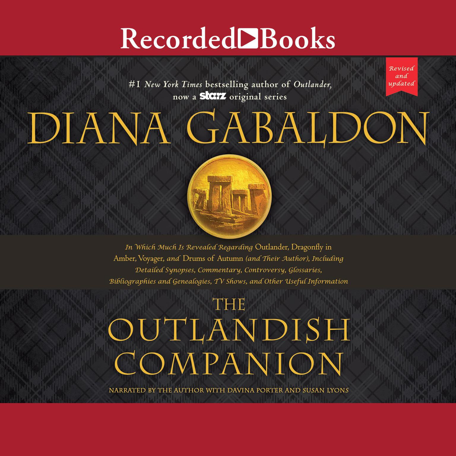 Printable The Outlandish Companion (Revised and Updated): Companion to Outlander, Dragonfly in Amber, Voyager, and Drums of Autumn Audiobook Cover Art