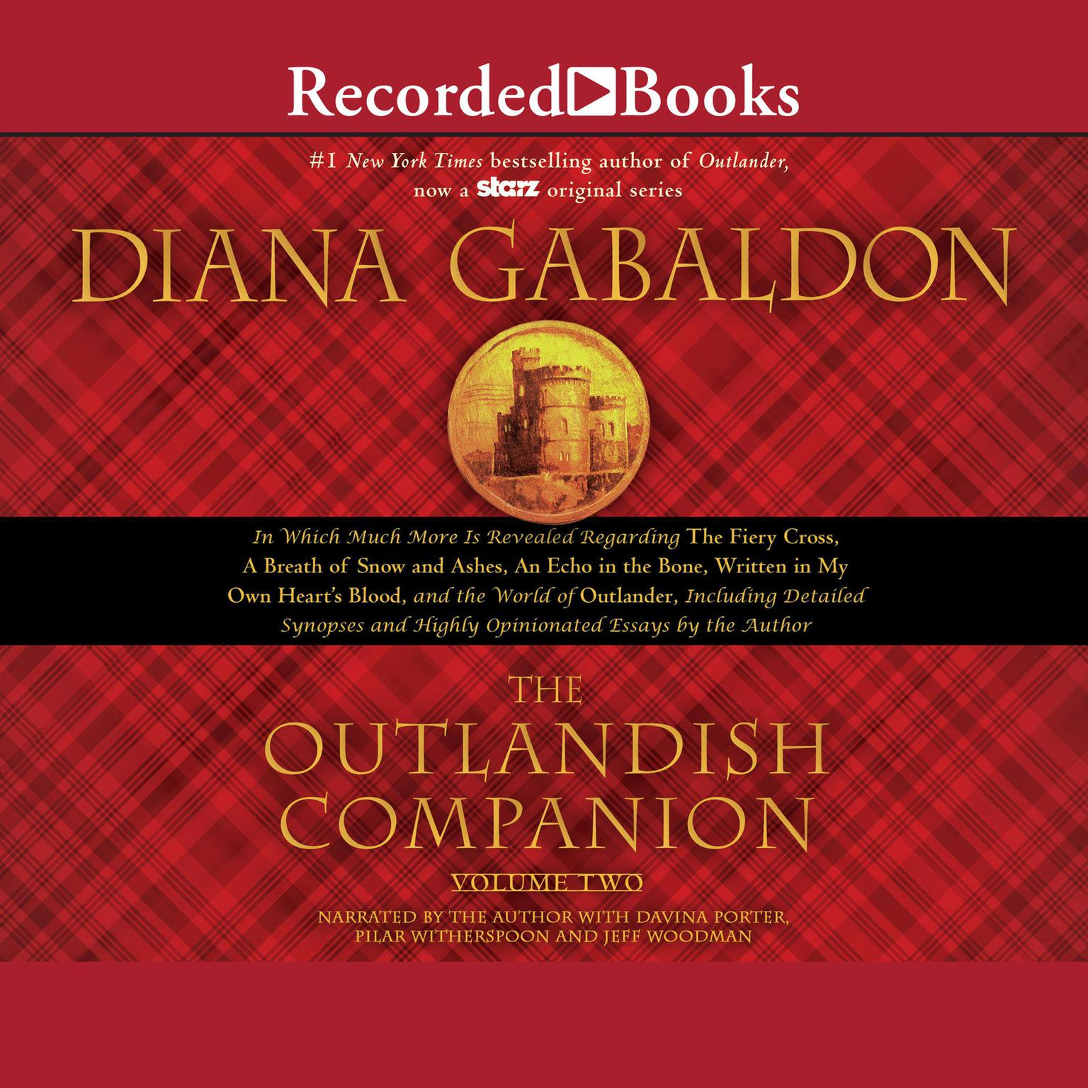 Printable The Outlandish Companion Volume Two: The Companion to The Fiery Cross, A Breath of Snow and Ashes, An Echo in the Bone, and Written in My Own Heart's Blood Audiobook Cover Art