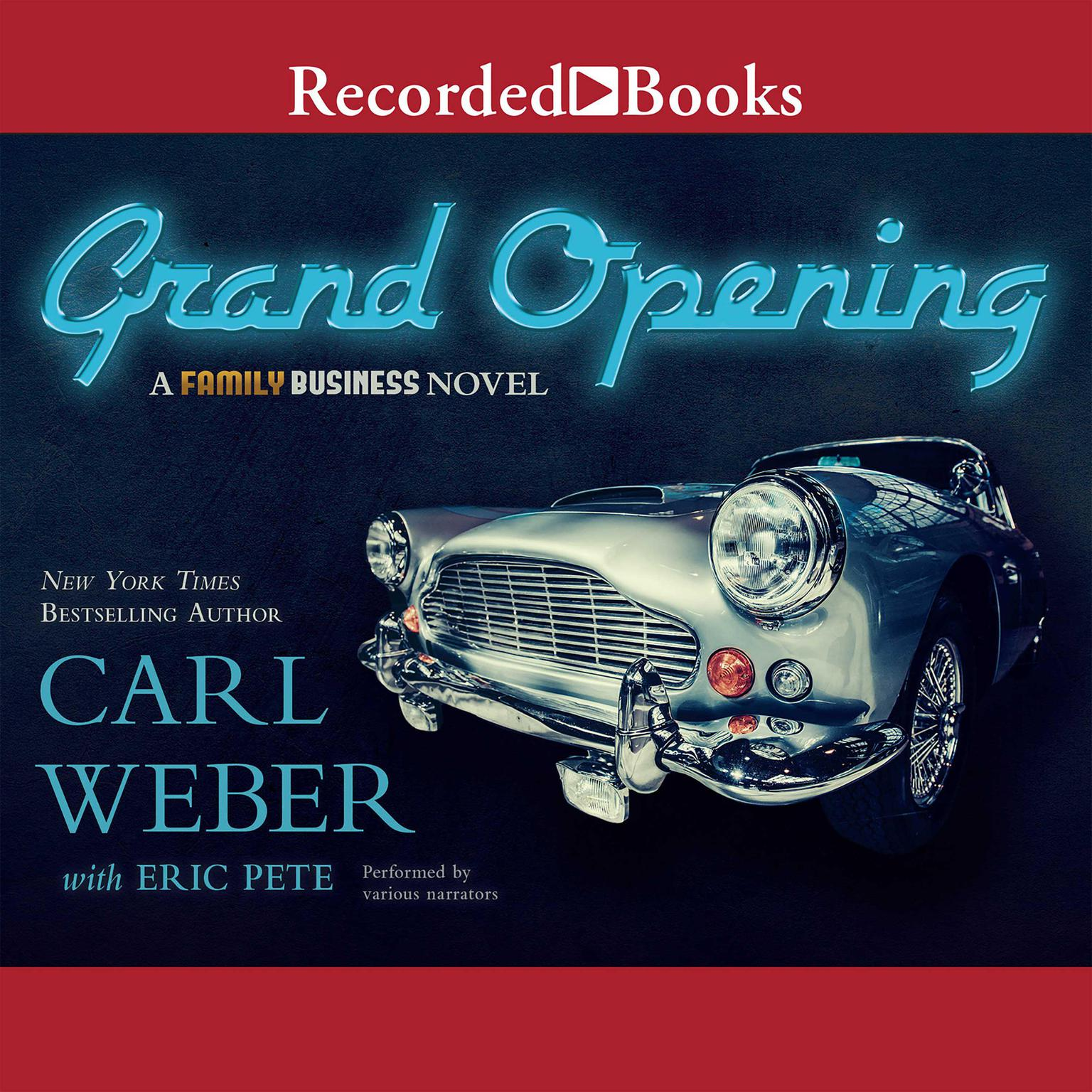 Printable Grand Opening: A Family Business Novel Audiobook Cover Art