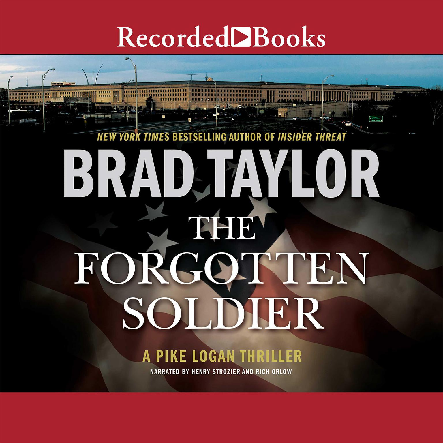 Printable The Forgotten Soldier Audiobook Cover Art