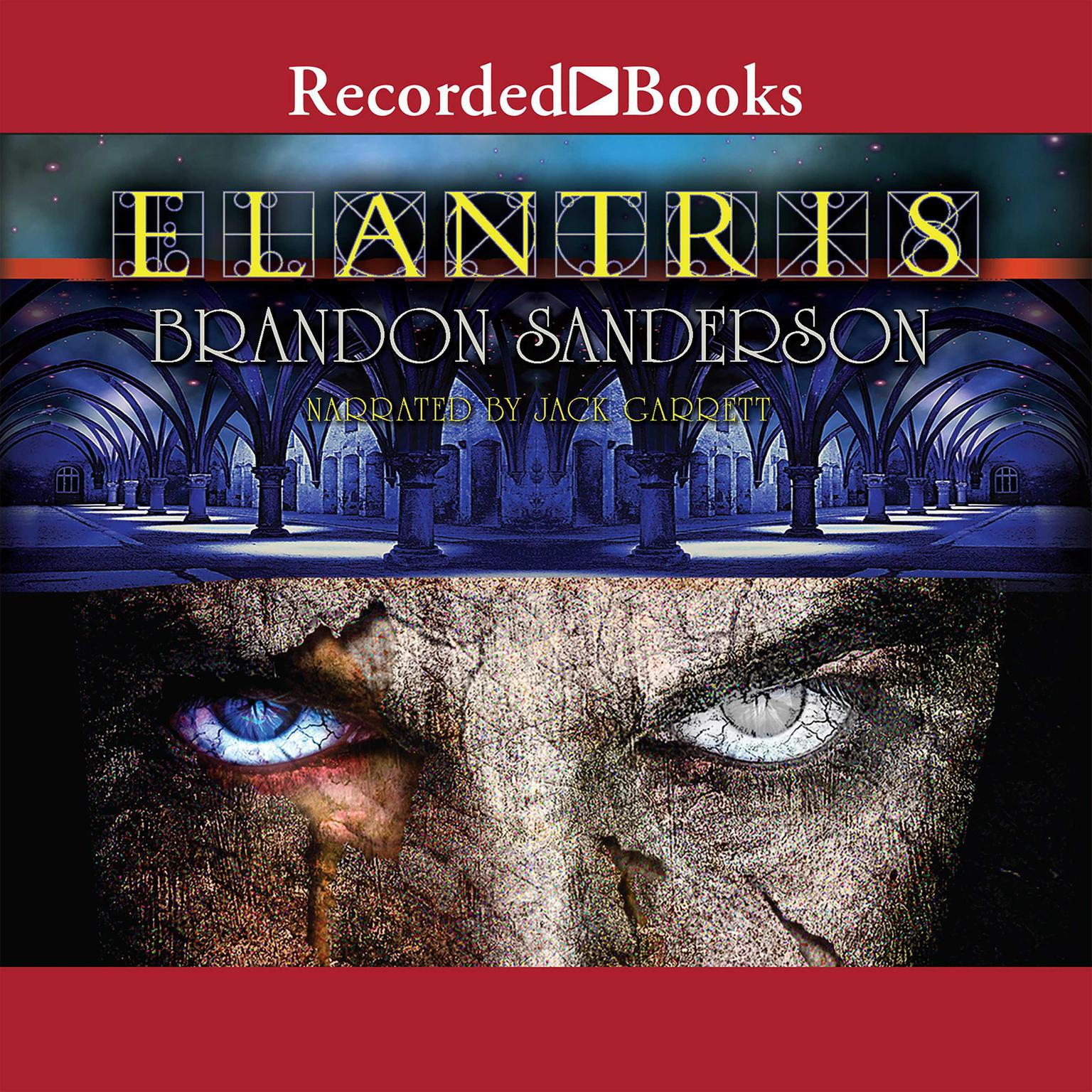 Printable Elantris: Tenth Anniversary Author's Definitive Edition Audiobook Cover Art