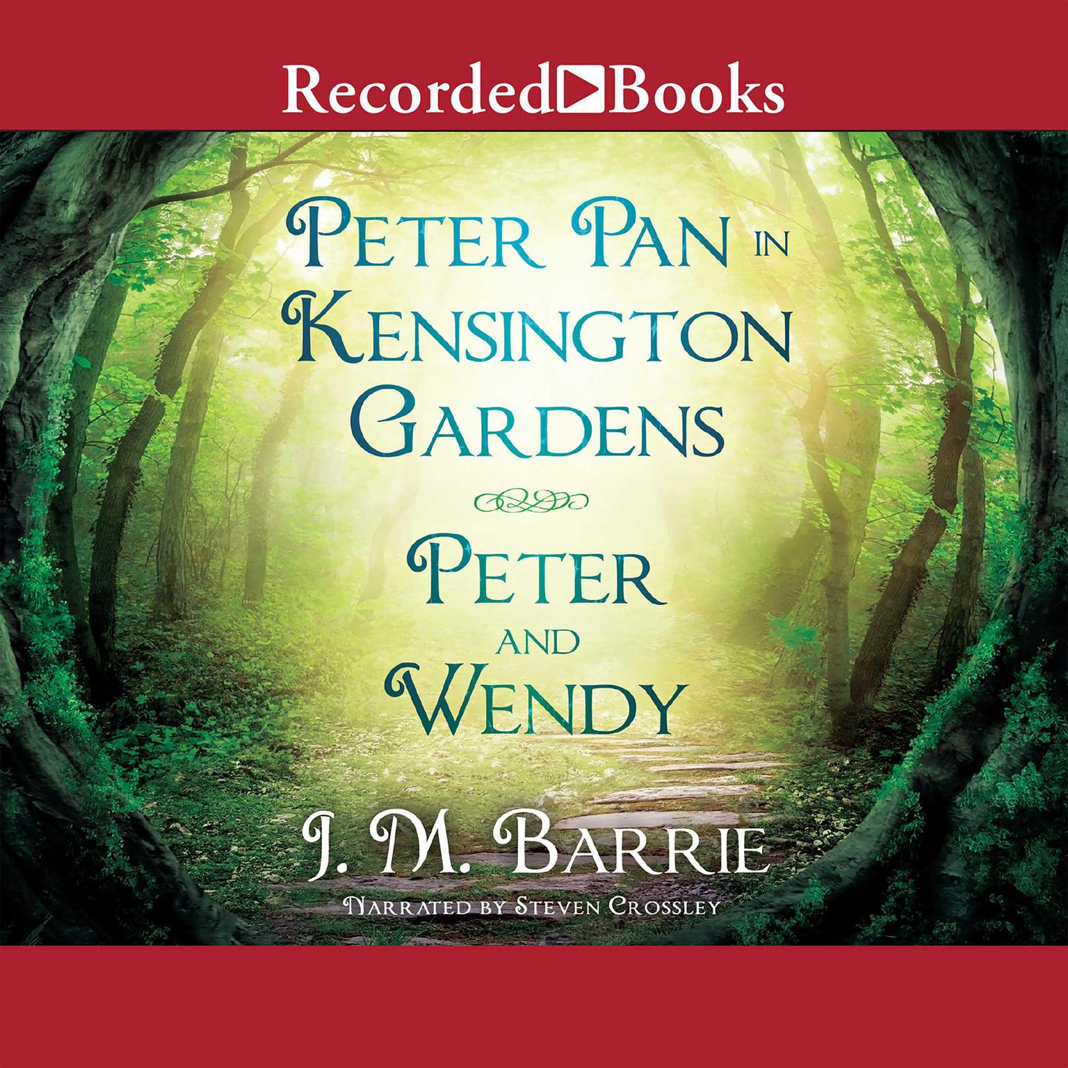 Printable Peter Pan in Kensington Gardens/Peter and Wendy Audiobook Cover Art