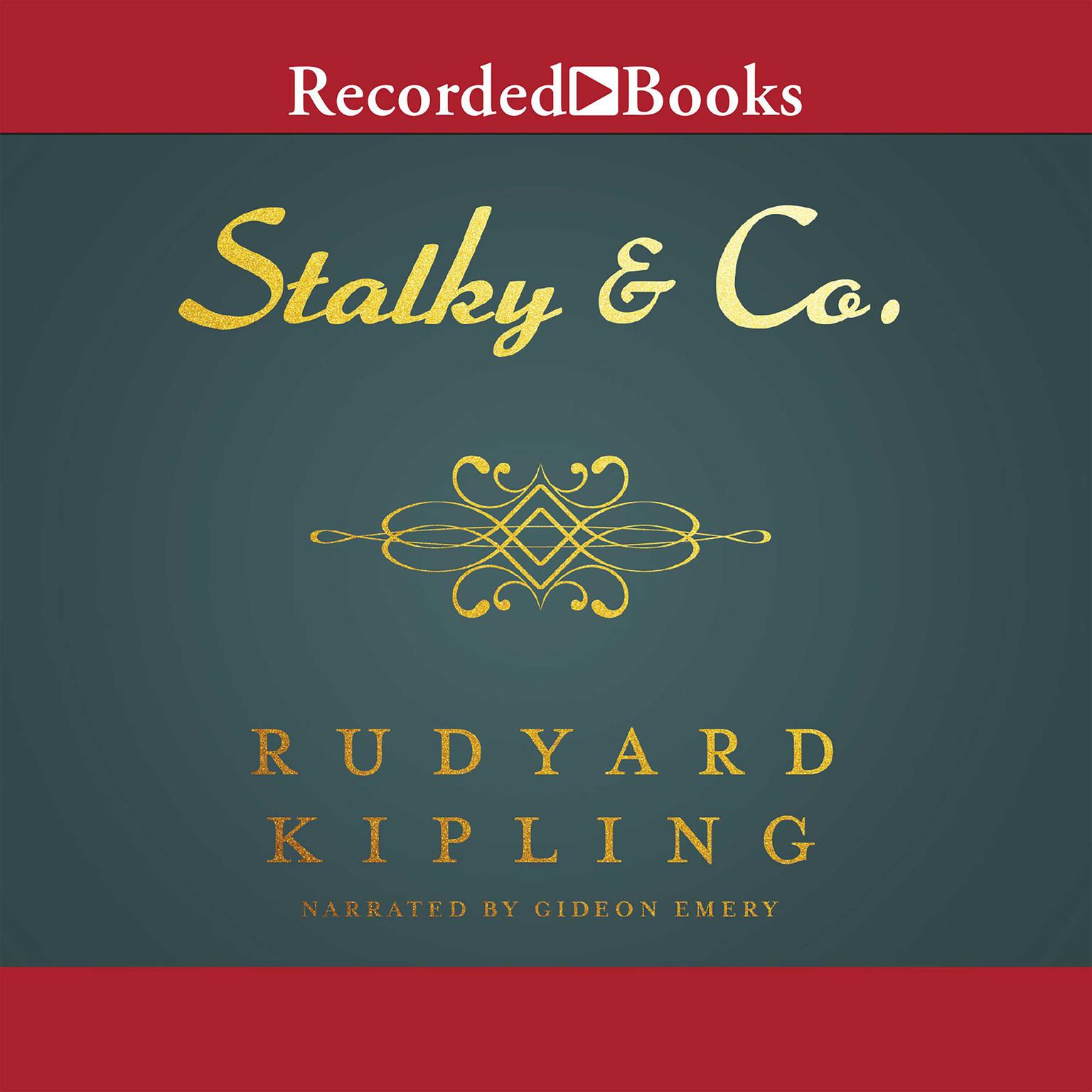Printable Stalky and Co. Audiobook Cover Art