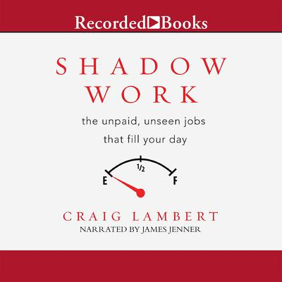 Shadow Work: the unpaid, unseen jobs that fill your day Audiobook, by Craig Lambert