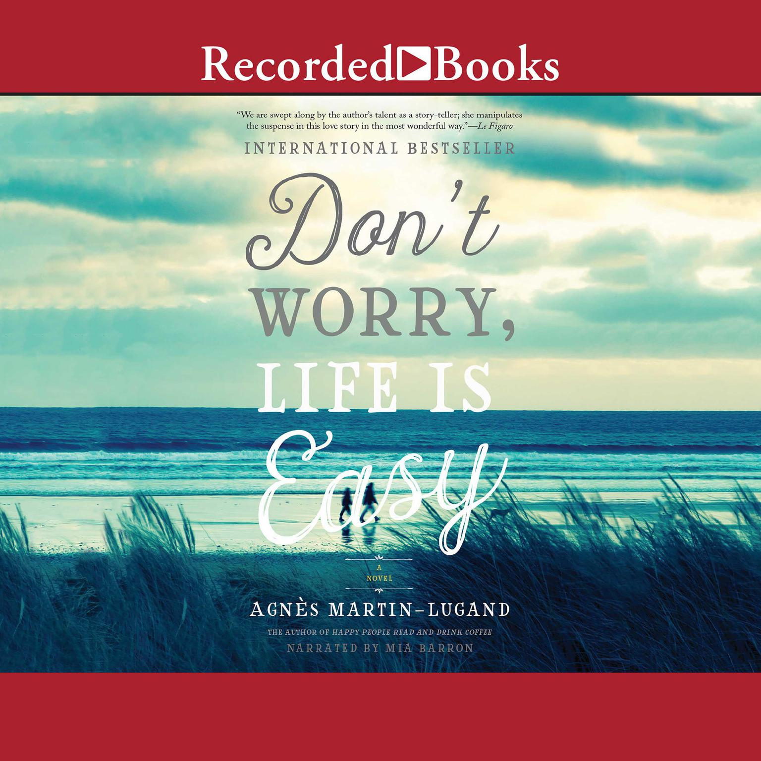 Printable Don't Worry Life Is Easy Audiobook Cover Art