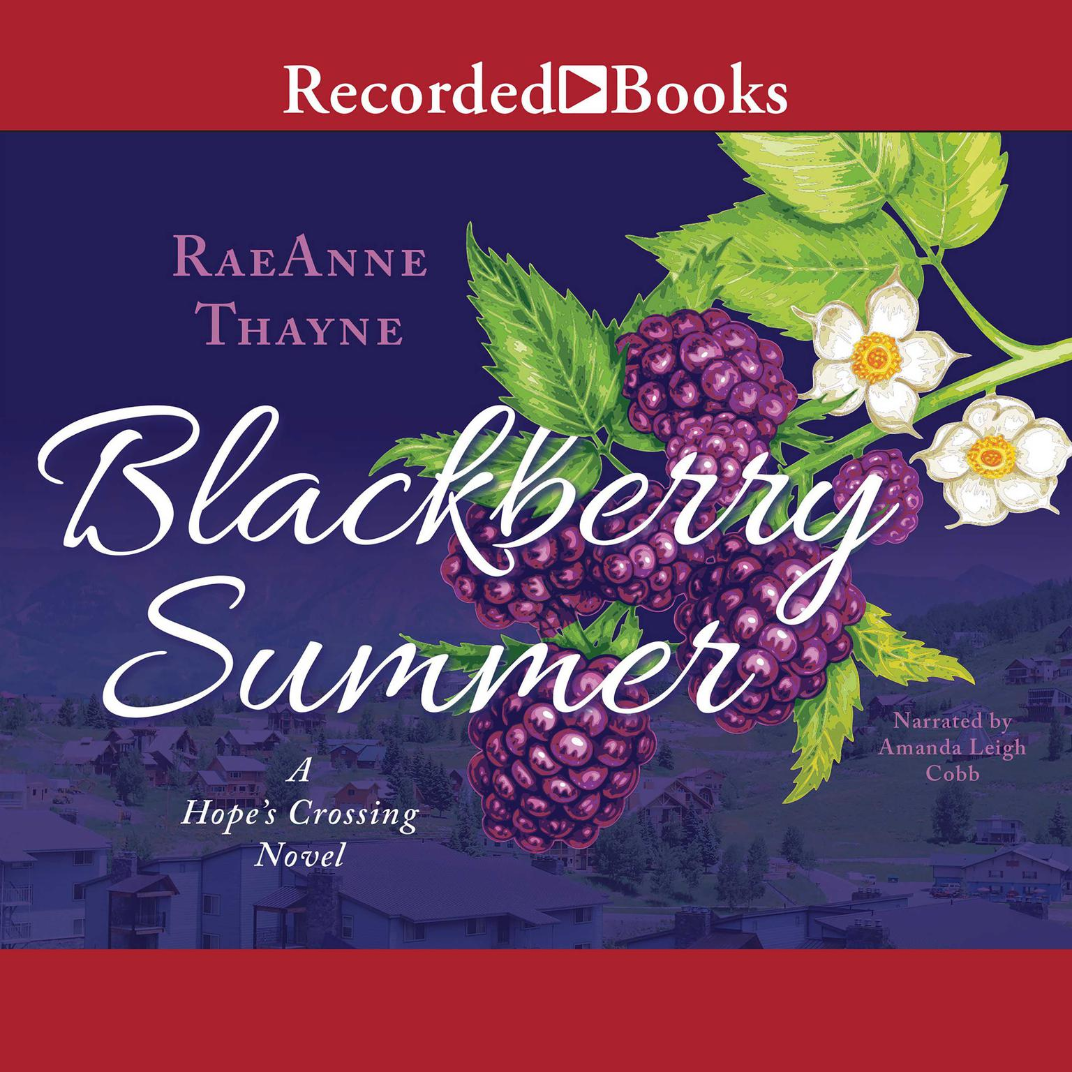 Printable Blackberry Summer Audiobook Cover Art