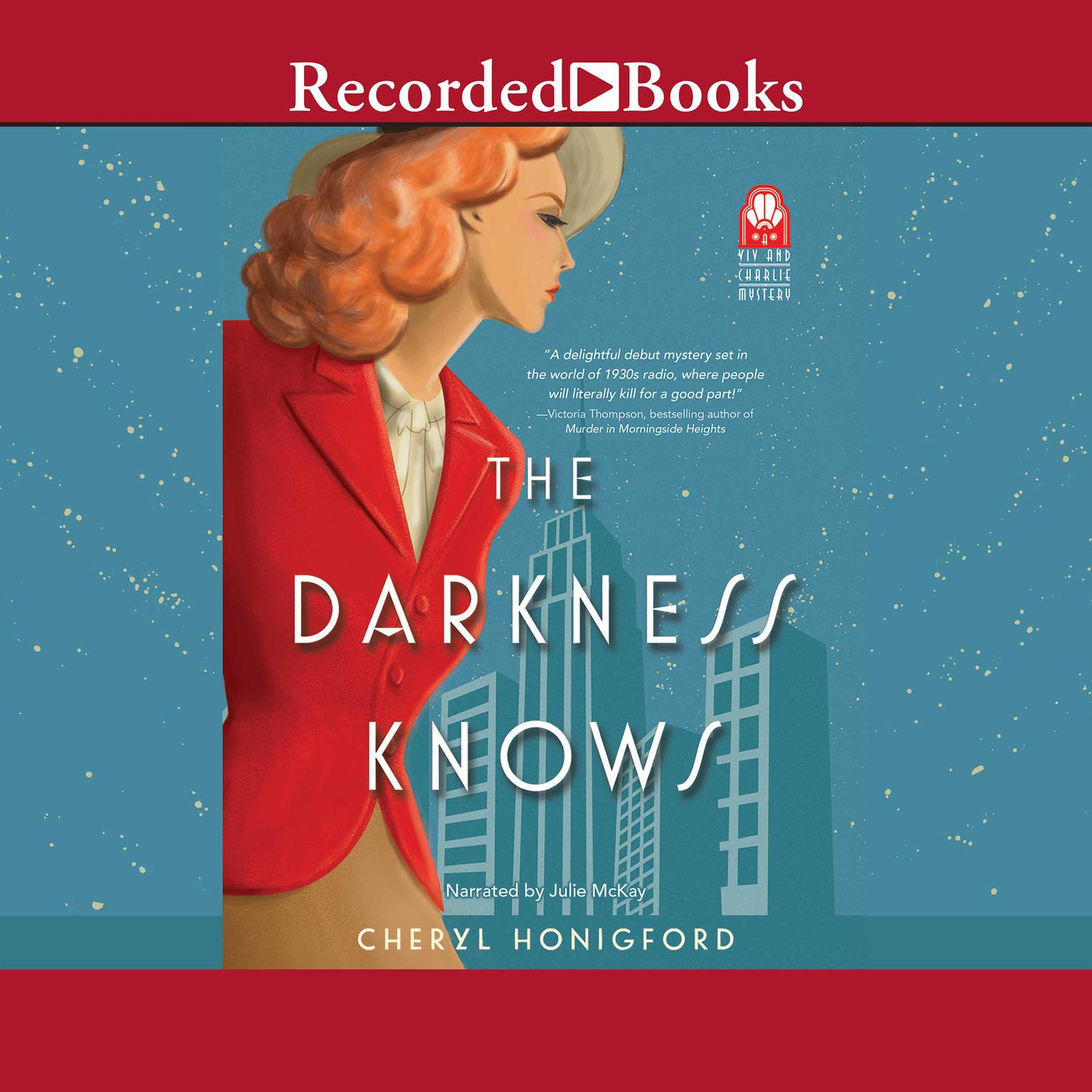 Printable The Darkness Knows Audiobook Cover Art