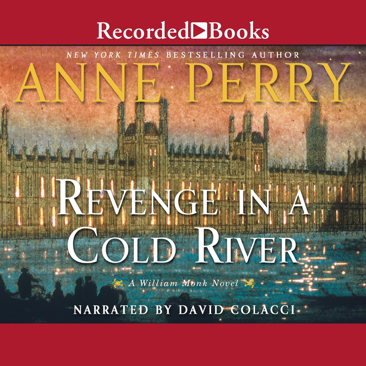Printable Revenge in a Cold River Audiobook Cover Art