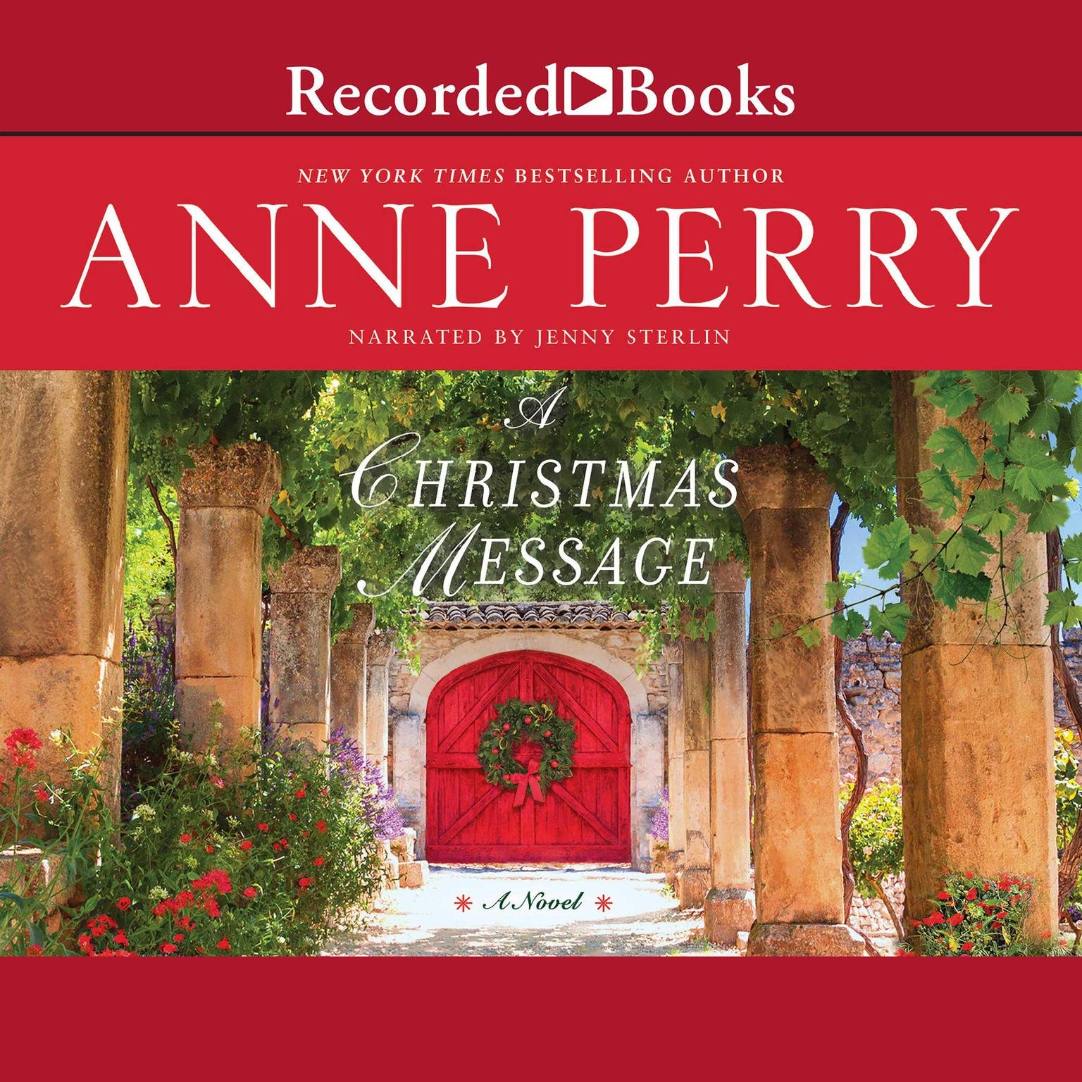 Printable A Christmas Message Audiobook Cover Art