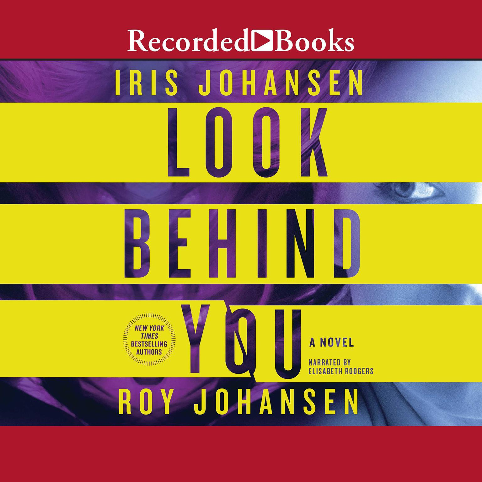 Printable Look Behind You: A Novel Audiobook Cover Art