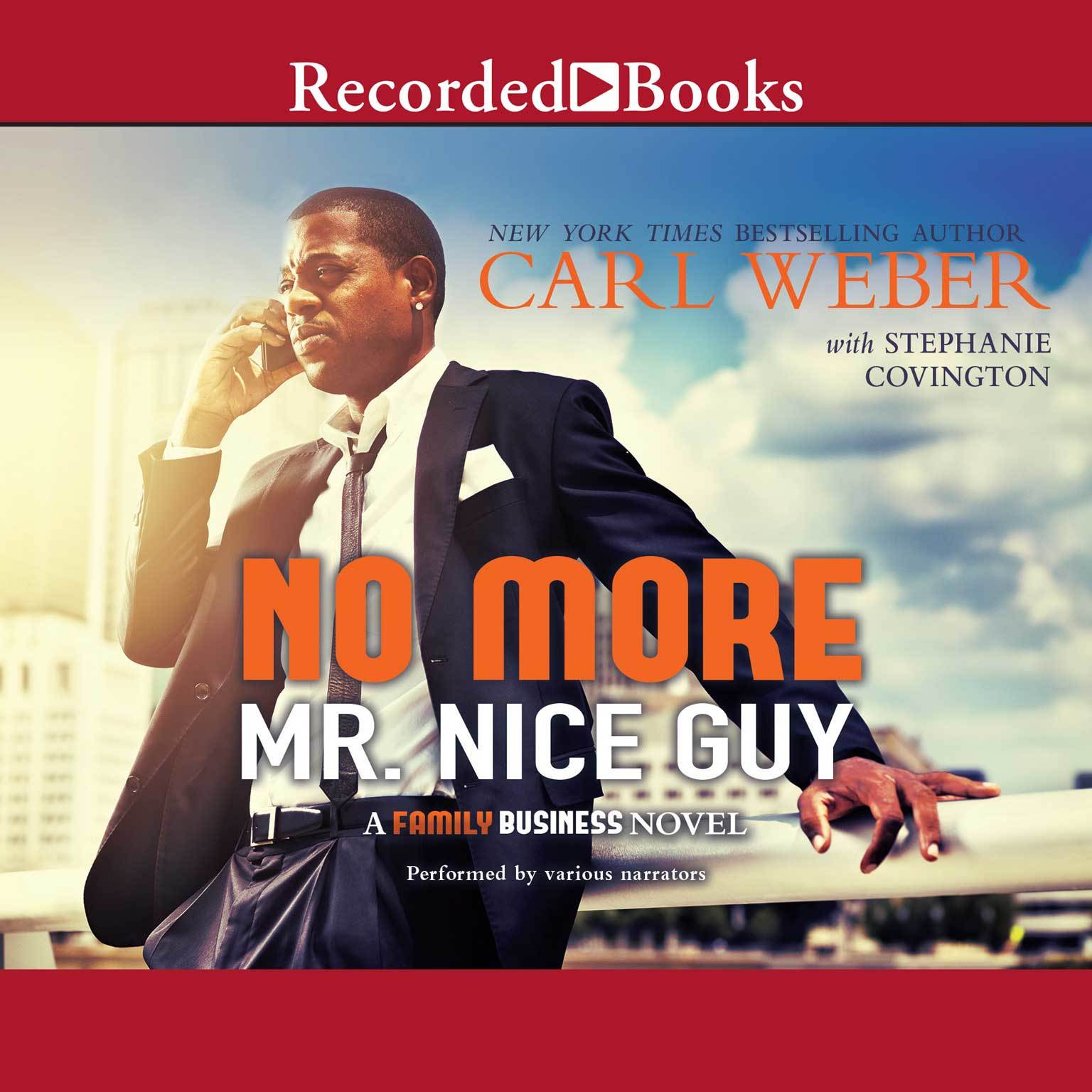 Printable No More Mr. Nice Guy: A Family Business Novel Audiobook Cover Art