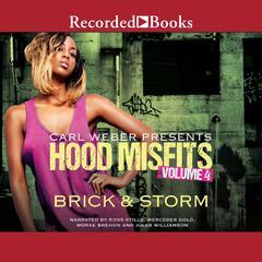 Hood Misfits Volume 4: Carl Weber Presents Audiobook, by Brick, Storm
