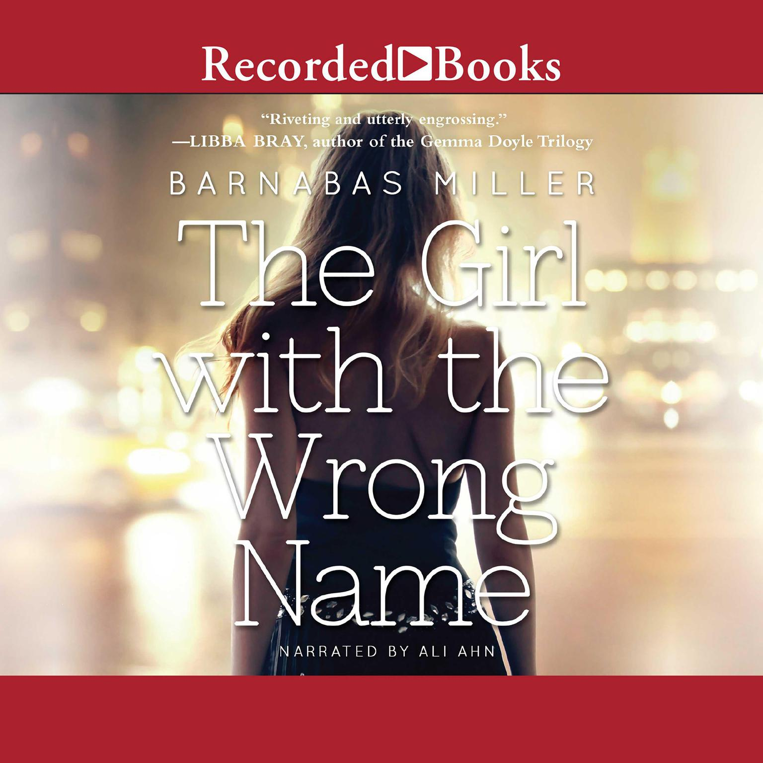 Printable The Girl with the Wrong Name Audiobook Cover Art