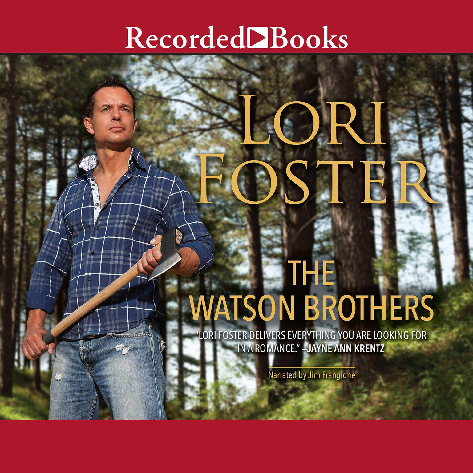 Printable The Watson Brothers Audiobook Cover Art