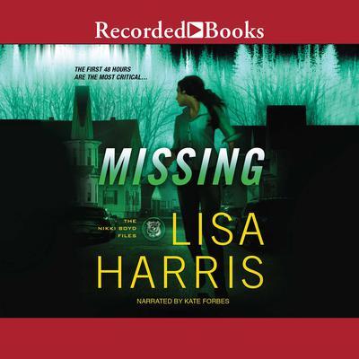 Missing Audiobook, by Lisa Harris