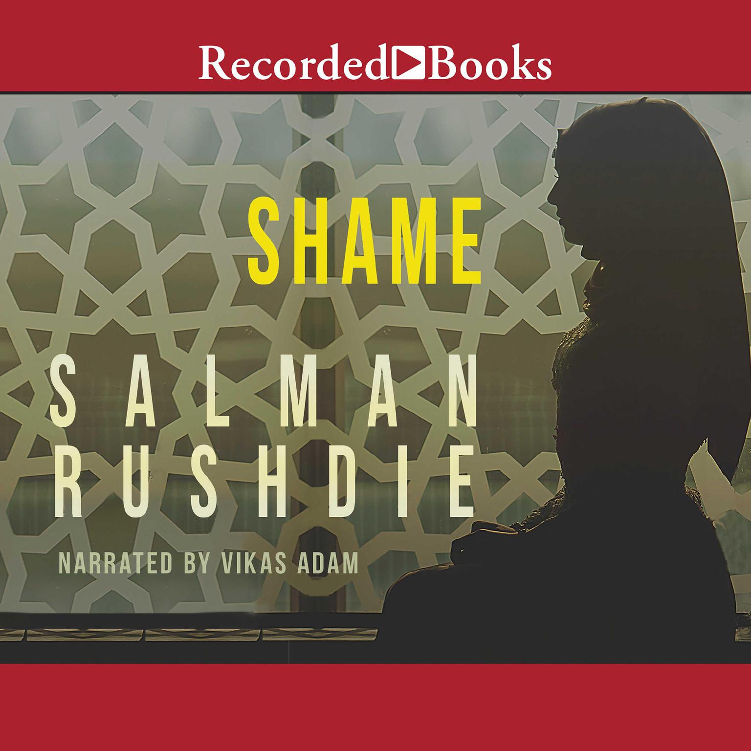 Printable Shame Audiobook Cover Art
