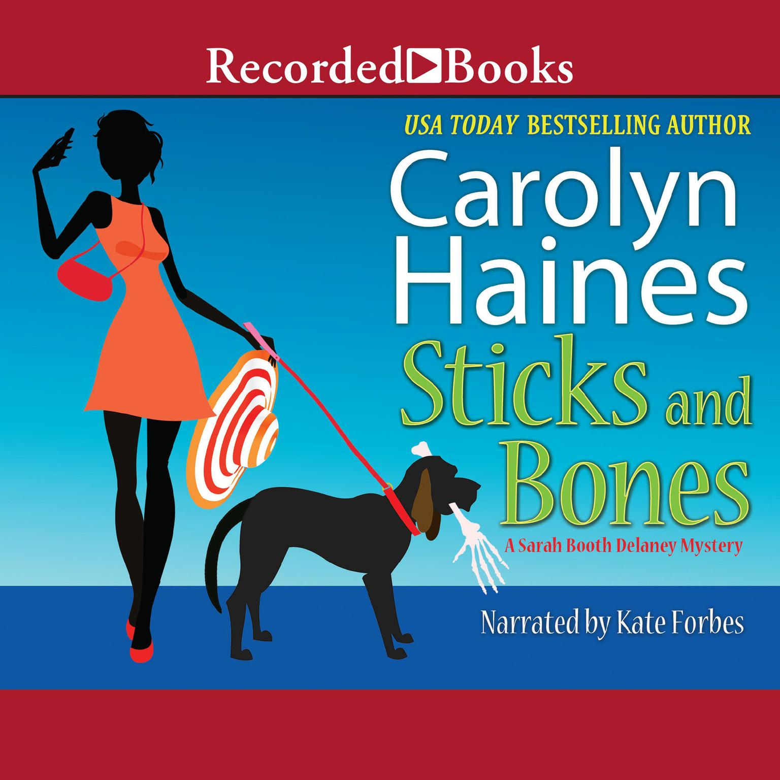 Printable Sticks and Bones Audiobook Cover Art