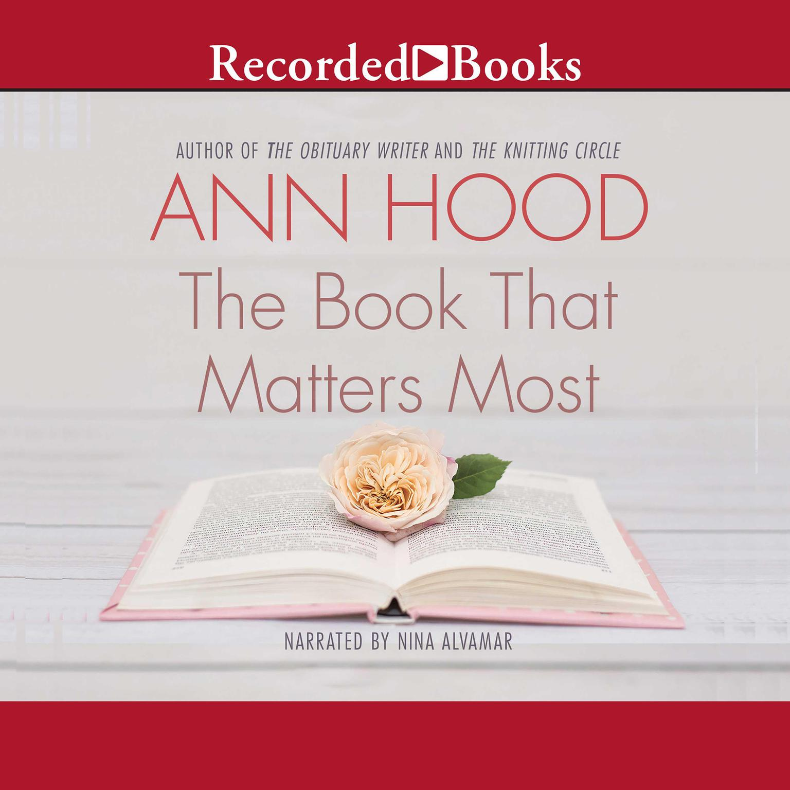 Printable The Book That Matters Most: A Novel Audiobook Cover Art