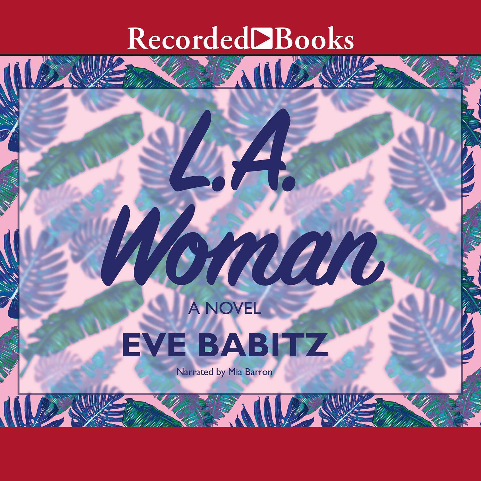 Printable L.A. Woman Audiobook Cover Art