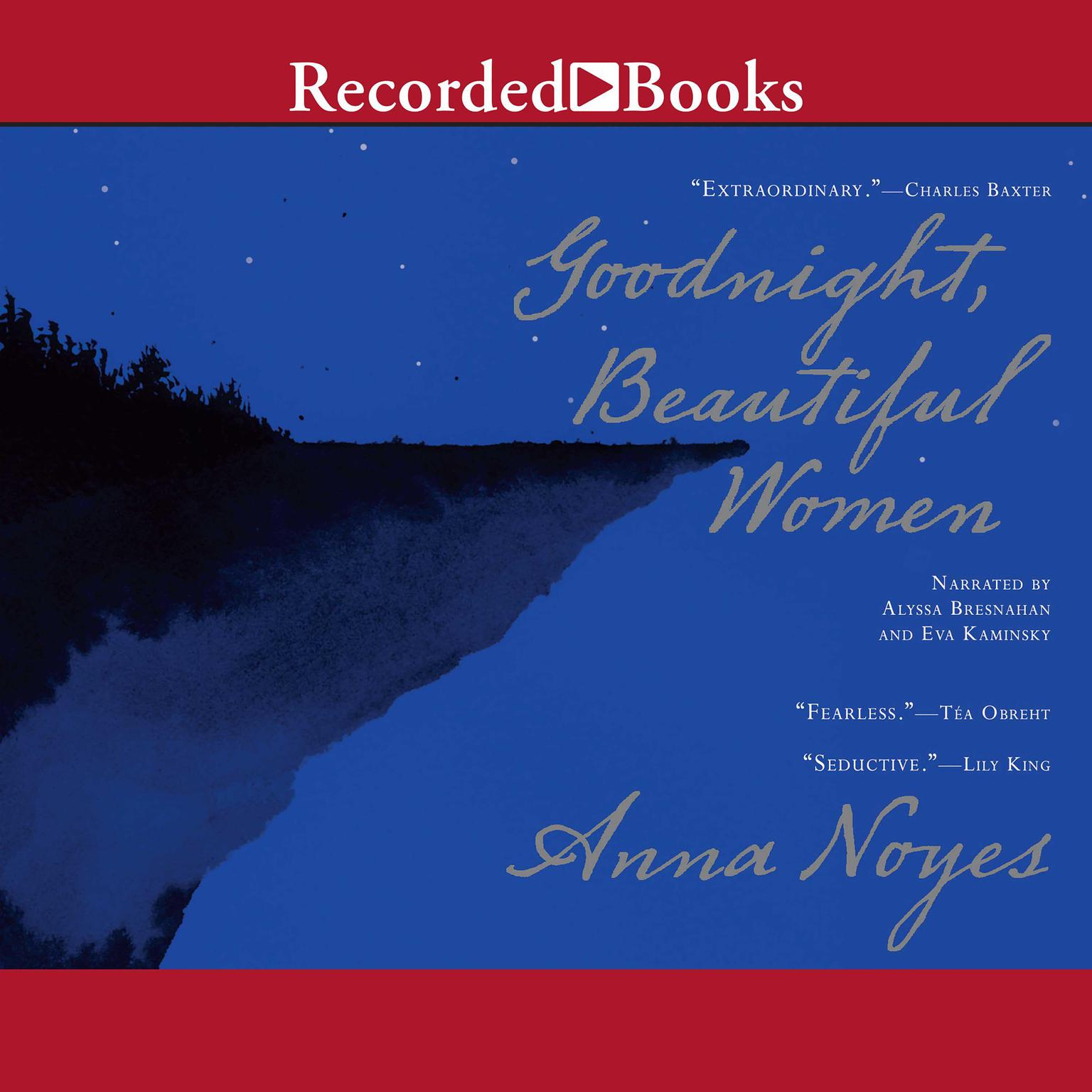 Printable Goodnight, Beautiful Women Audiobook Cover Art