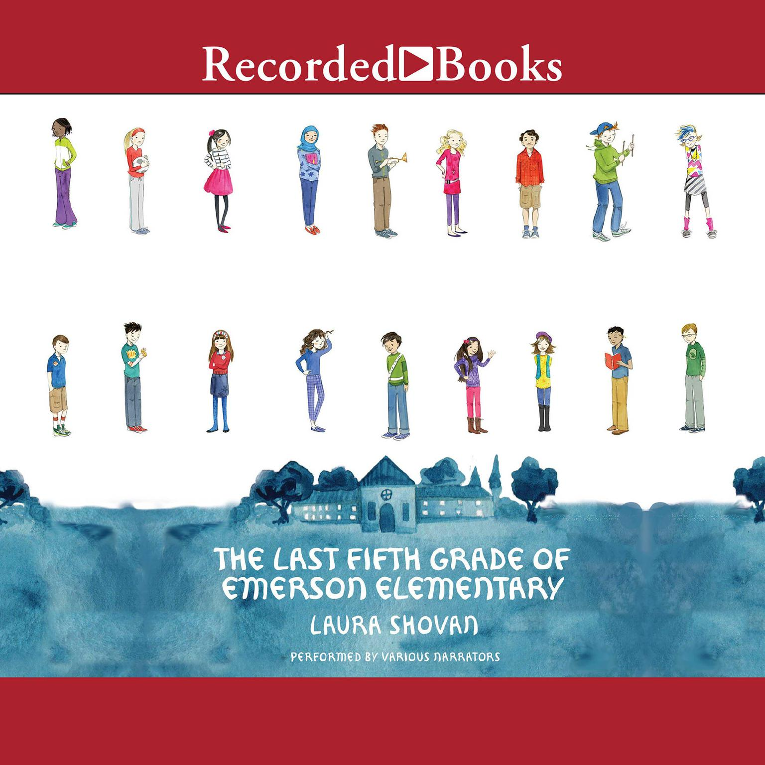 Printable The Last Fifth Grade of Emerson Elementary Audiobook Cover Art