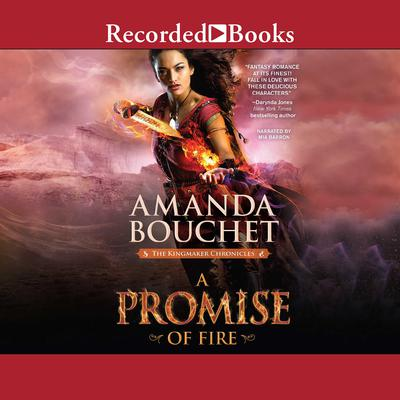 A Promise of Fire Audiobook, by Amanda Bouchet