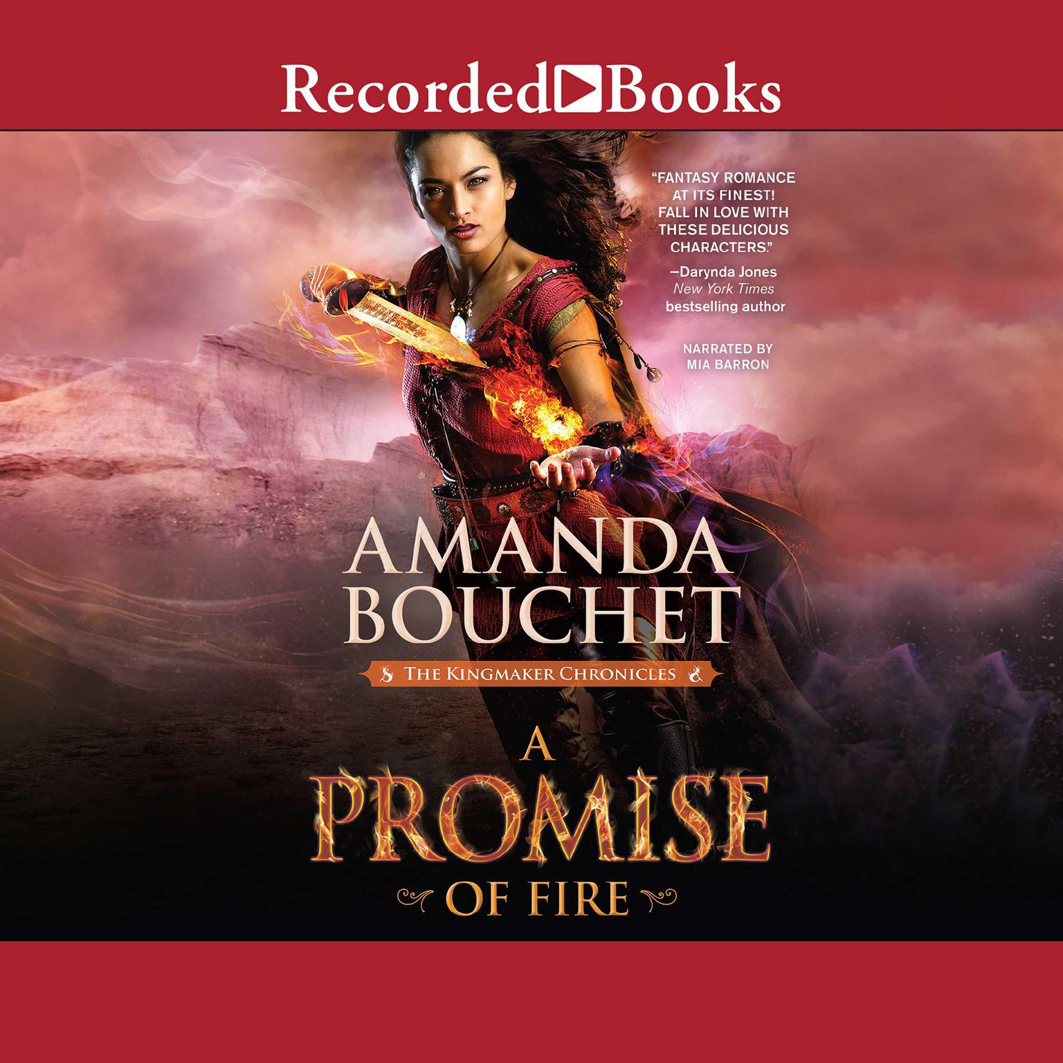 Printable A Promise of Fire Audiobook Cover Art