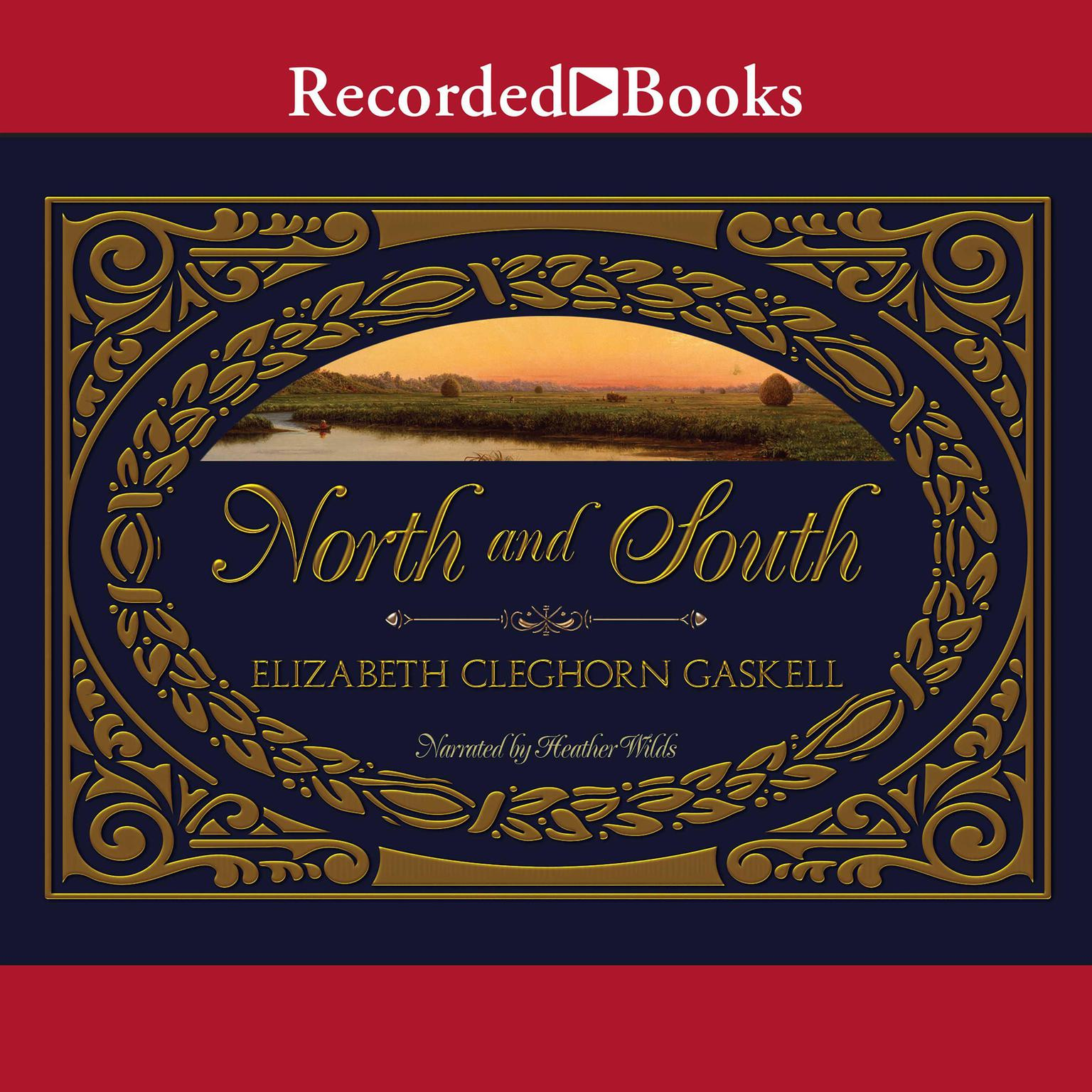 Printable North and South Audiobook Cover Art