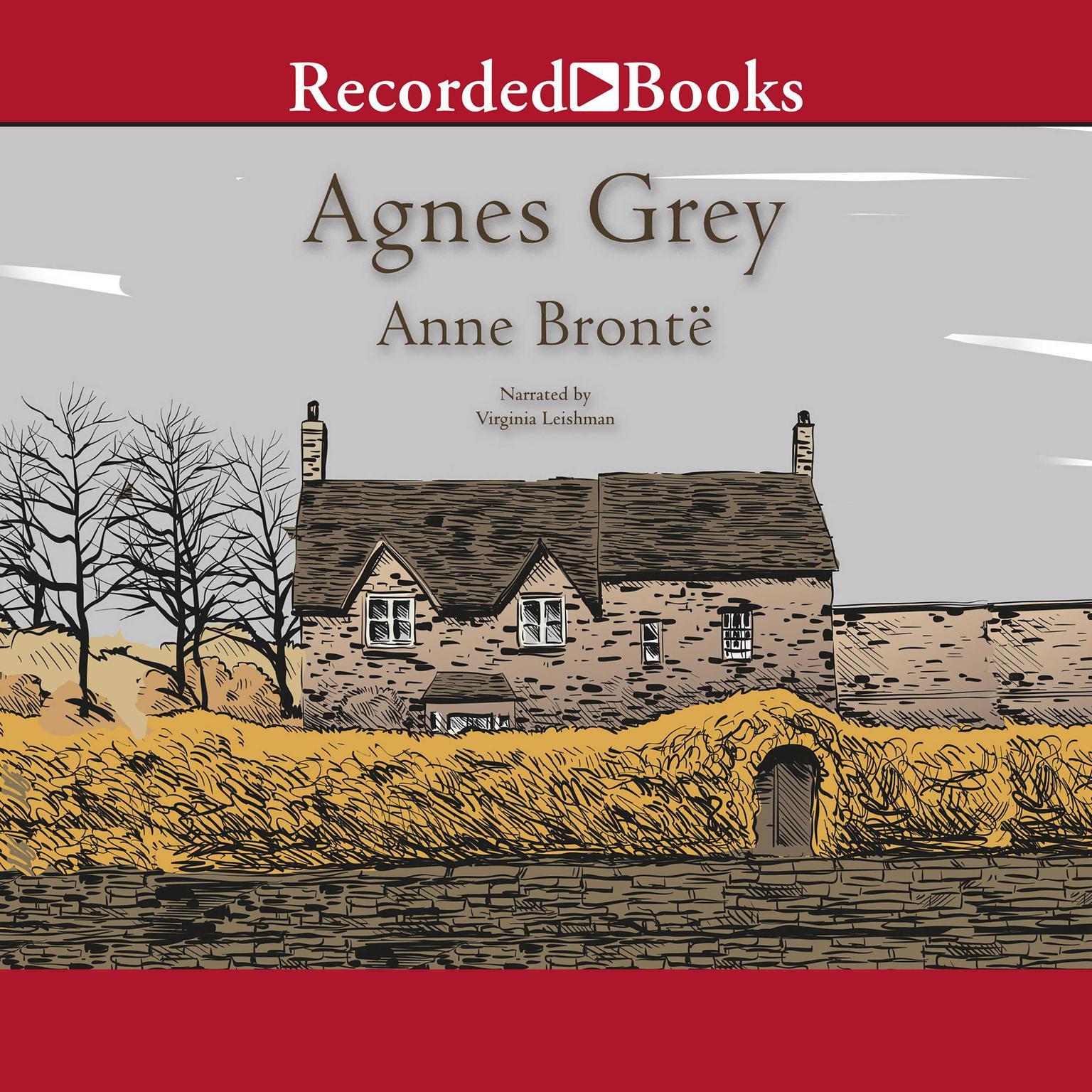 Printable Agnes Grey Audiobook Cover Art