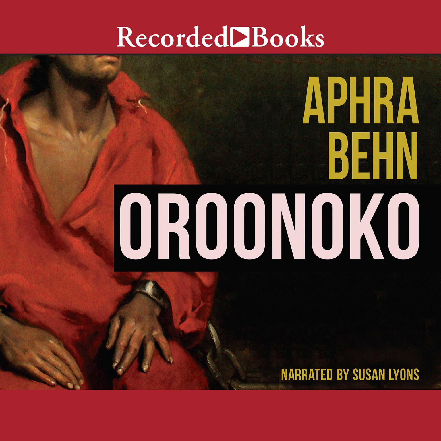Printable Oroonoko Audiobook Cover Art