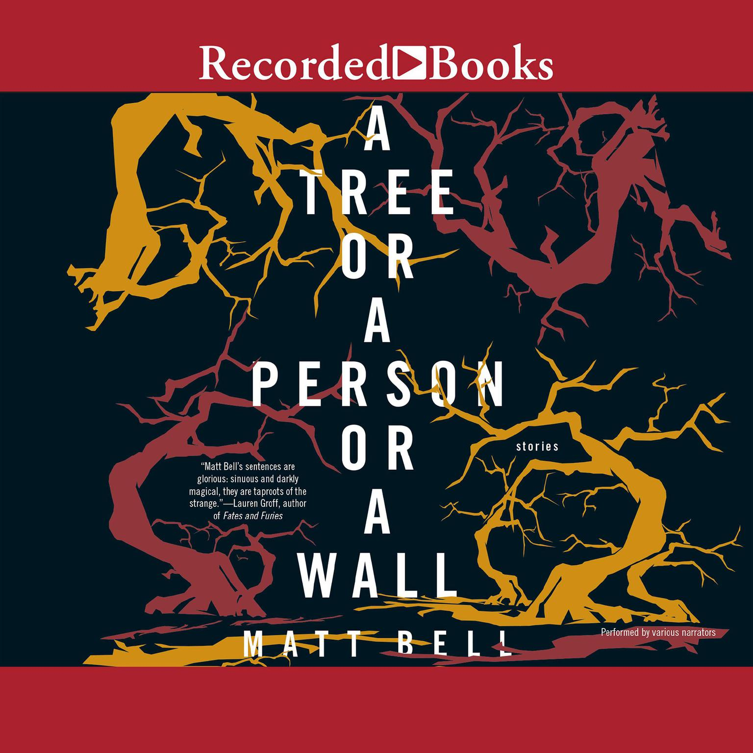 Printable A Tree or a Person or a Wall: Stories Audiobook Cover Art