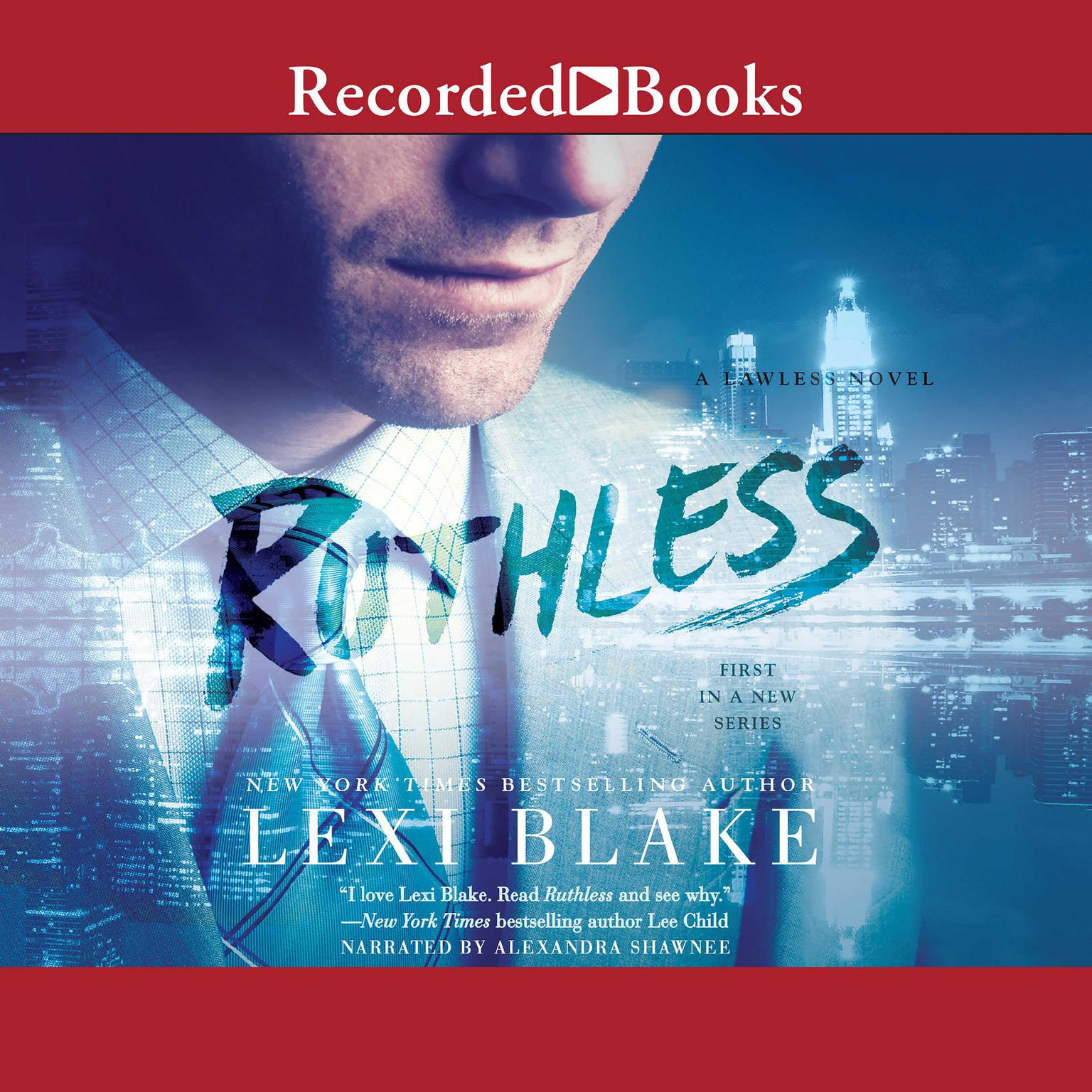Printable Ruthless Audiobook Cover Art