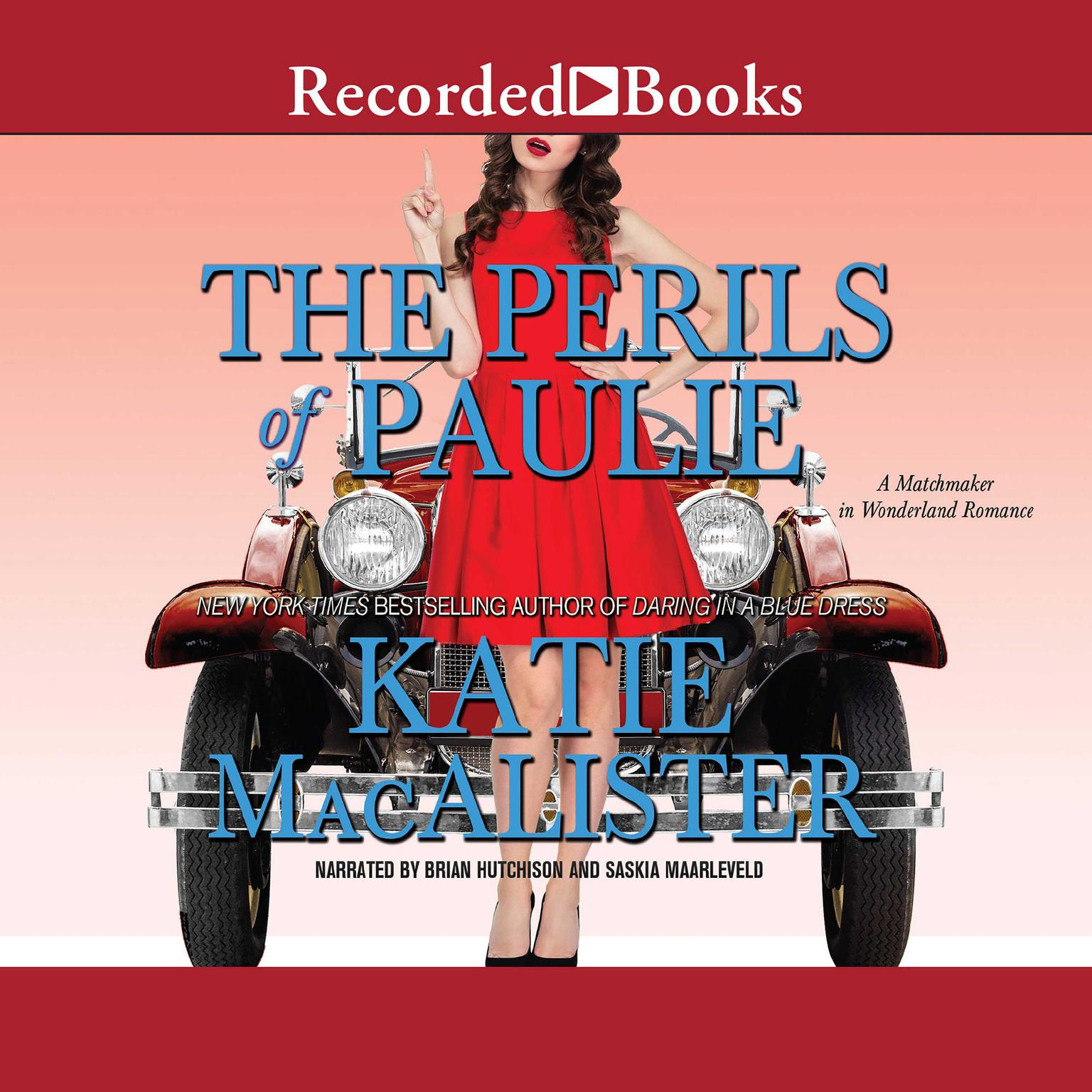 Printable The Perils of Paulie Audiobook Cover Art