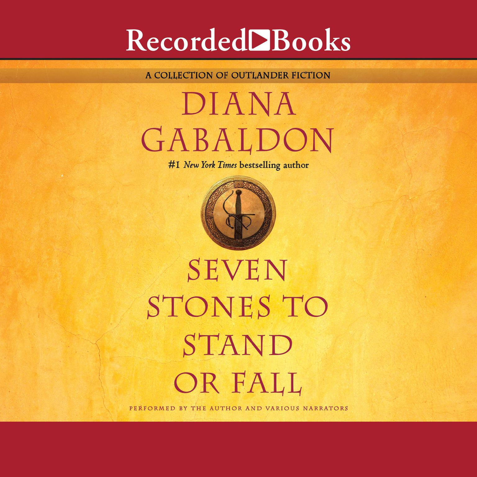 Printable Seven Stones to Stand or Fall: A Collection of Outlander Fiction Audiobook Cover Art