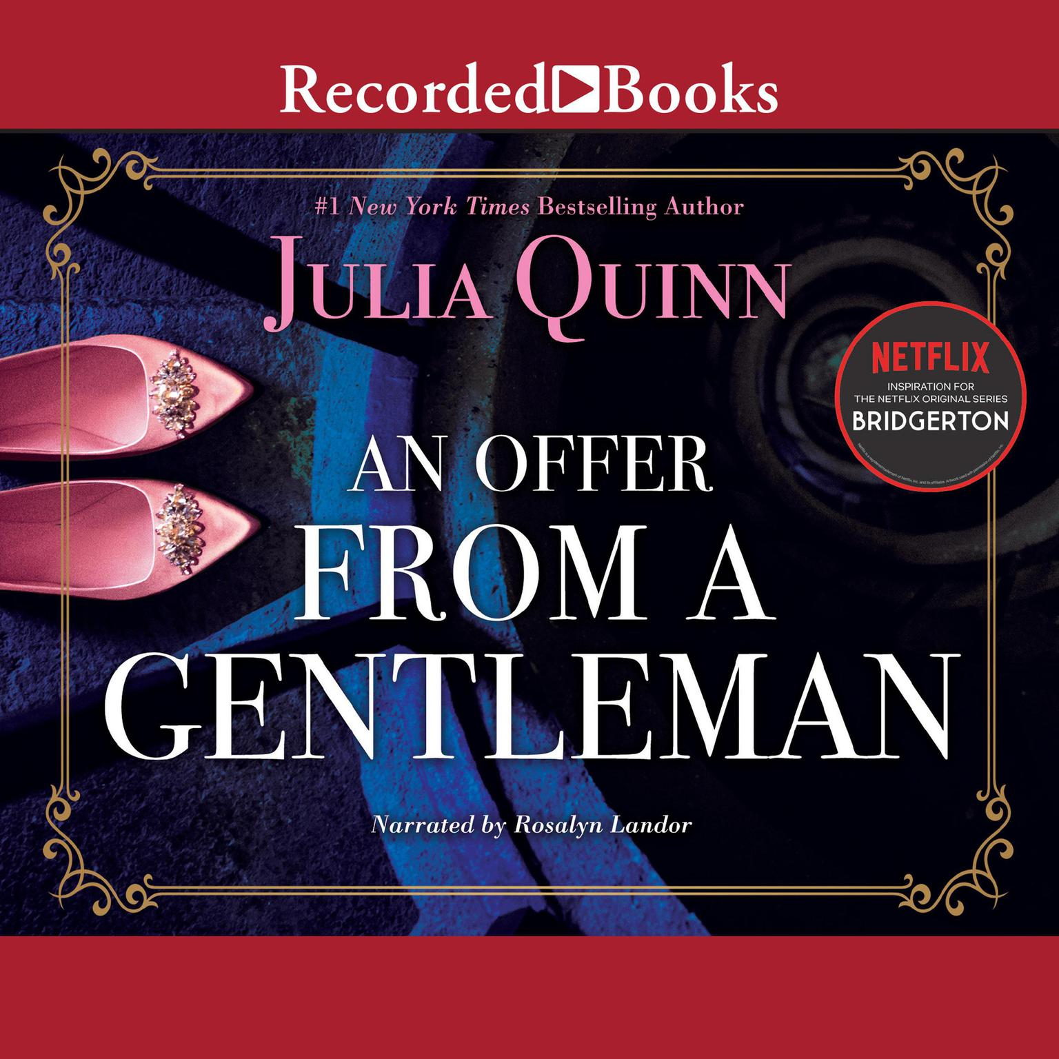 Printable An Offer from a Gentleman Audiobook Cover Art