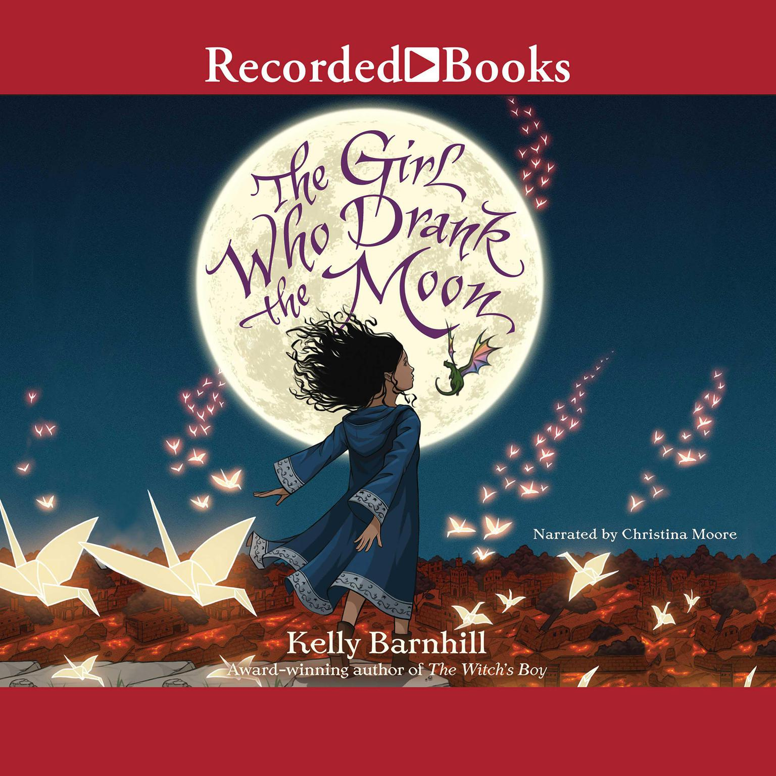 Printable The Girl Who Drank the Moon Audiobook Cover Art