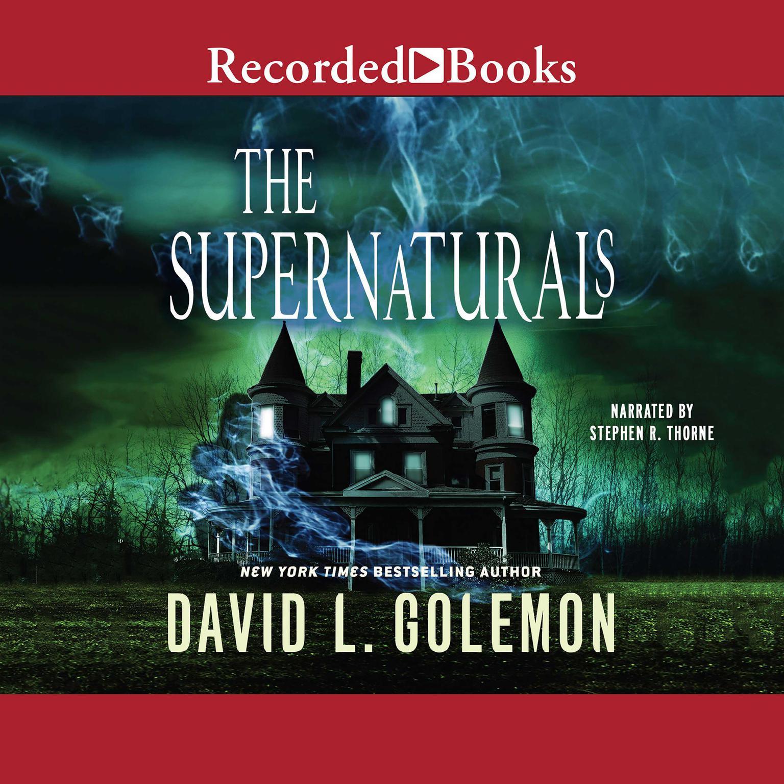 Printable The Supernaturals Audiobook Cover Art