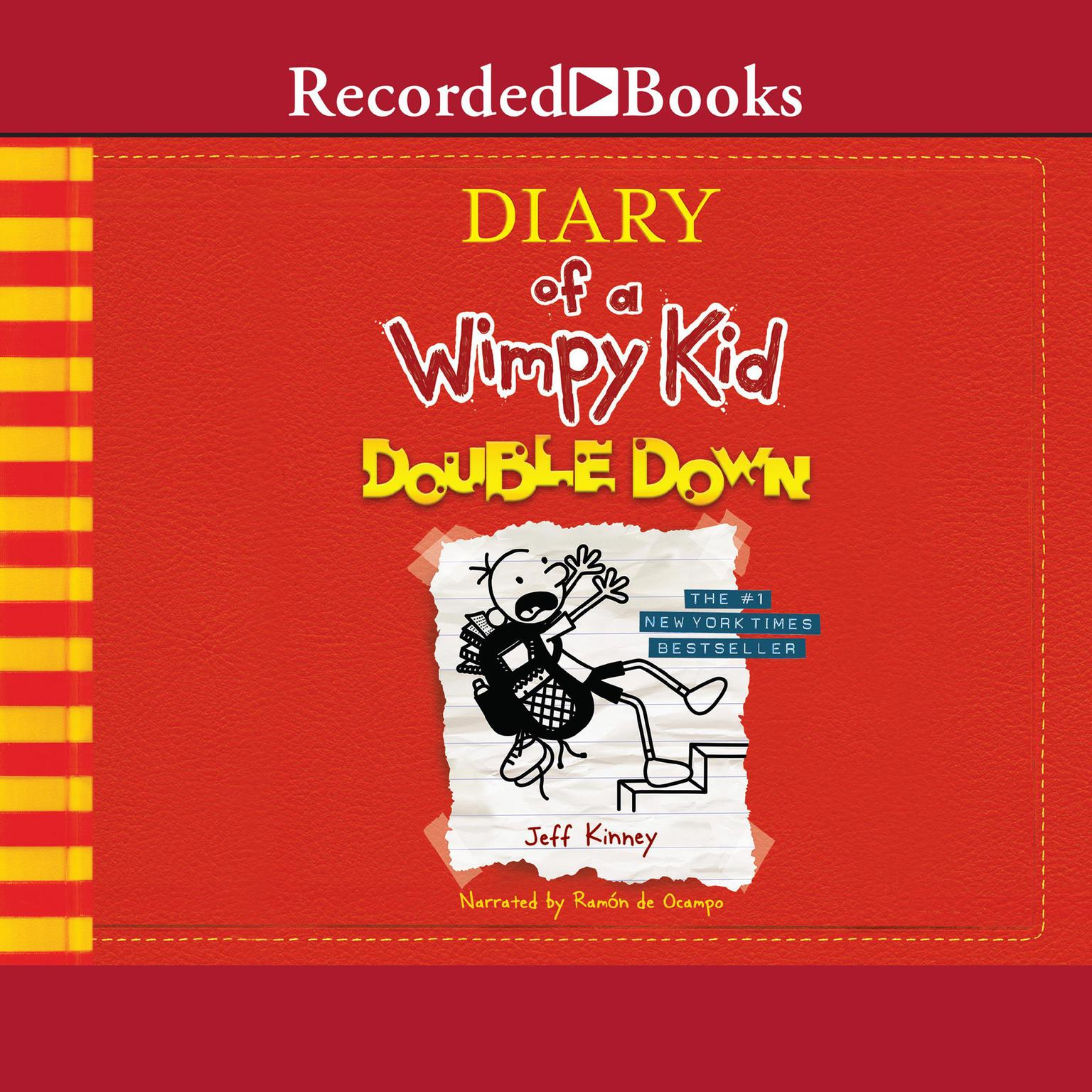 Printable Diary of a Wimpy Kid: Double Down Audiobook Cover Art