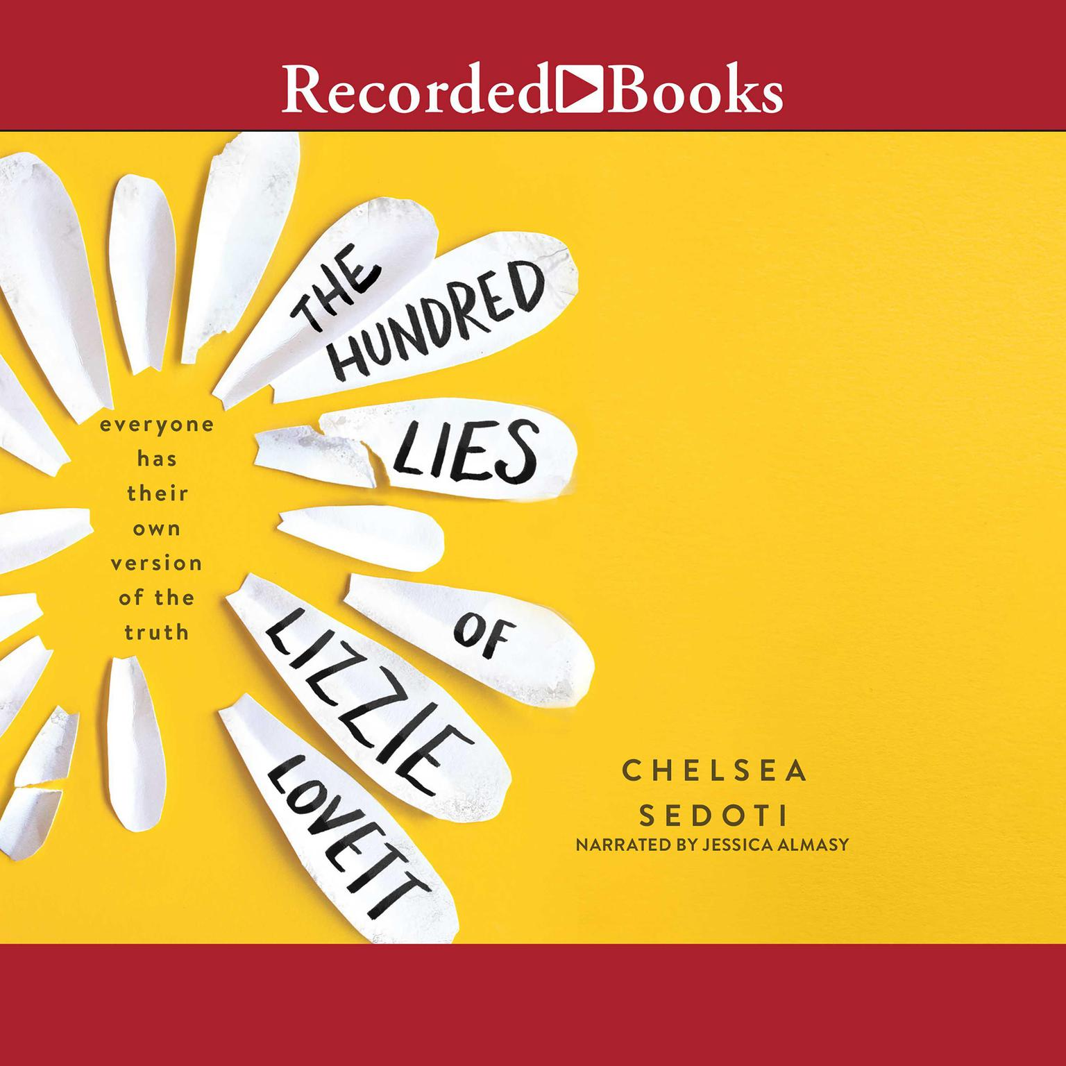 Printable The Hundred Lies of Lizzie Lovett Audiobook Cover Art