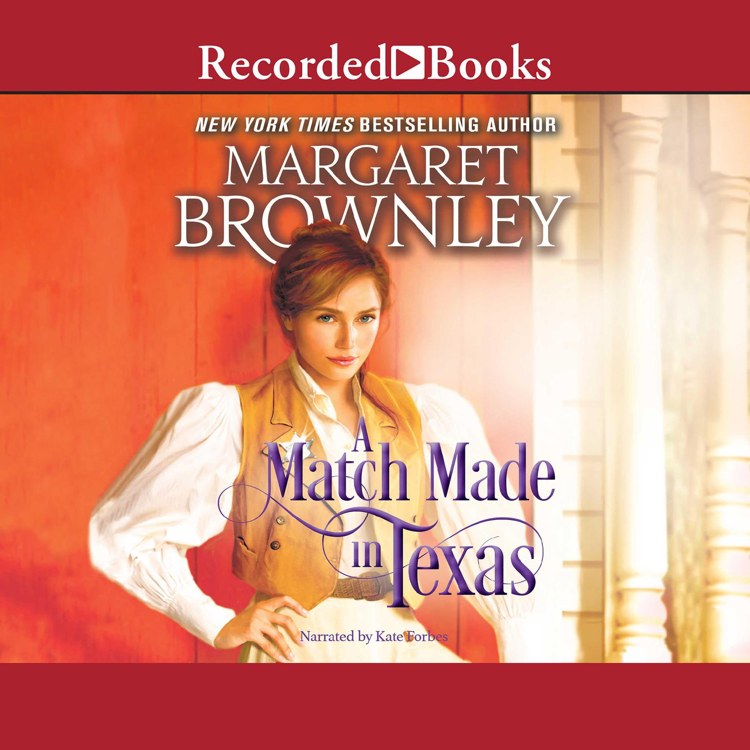 Printable A Match Made in Texas Audiobook Cover Art