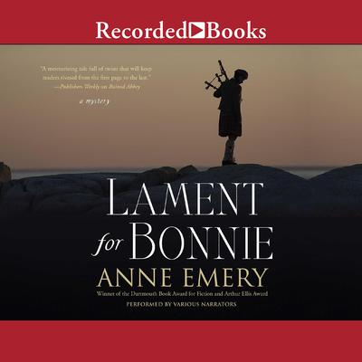 Lament for Bonnie Audiobook, by Anne Emery