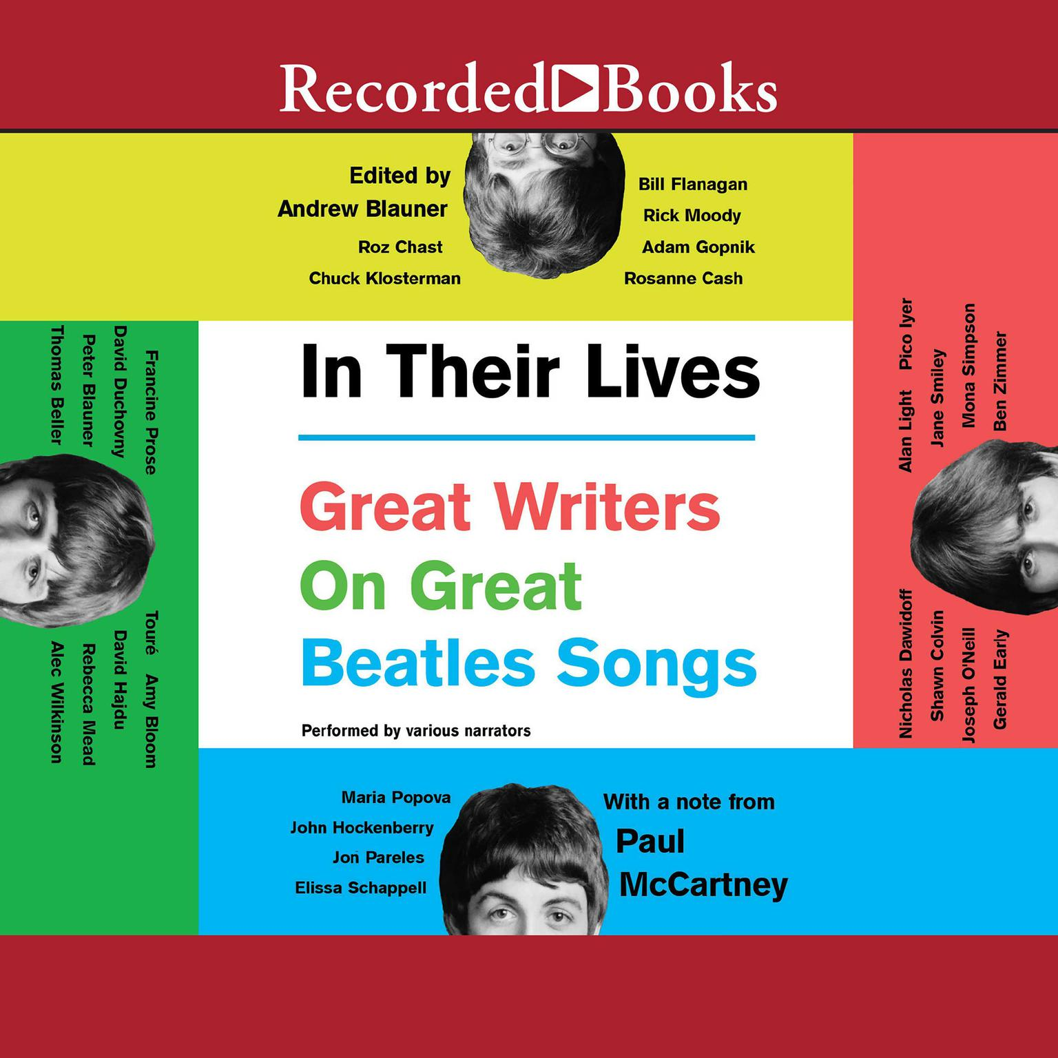 Printable In Their Lives: Great Writers on Great Beatles Songs Audiobook Cover Art