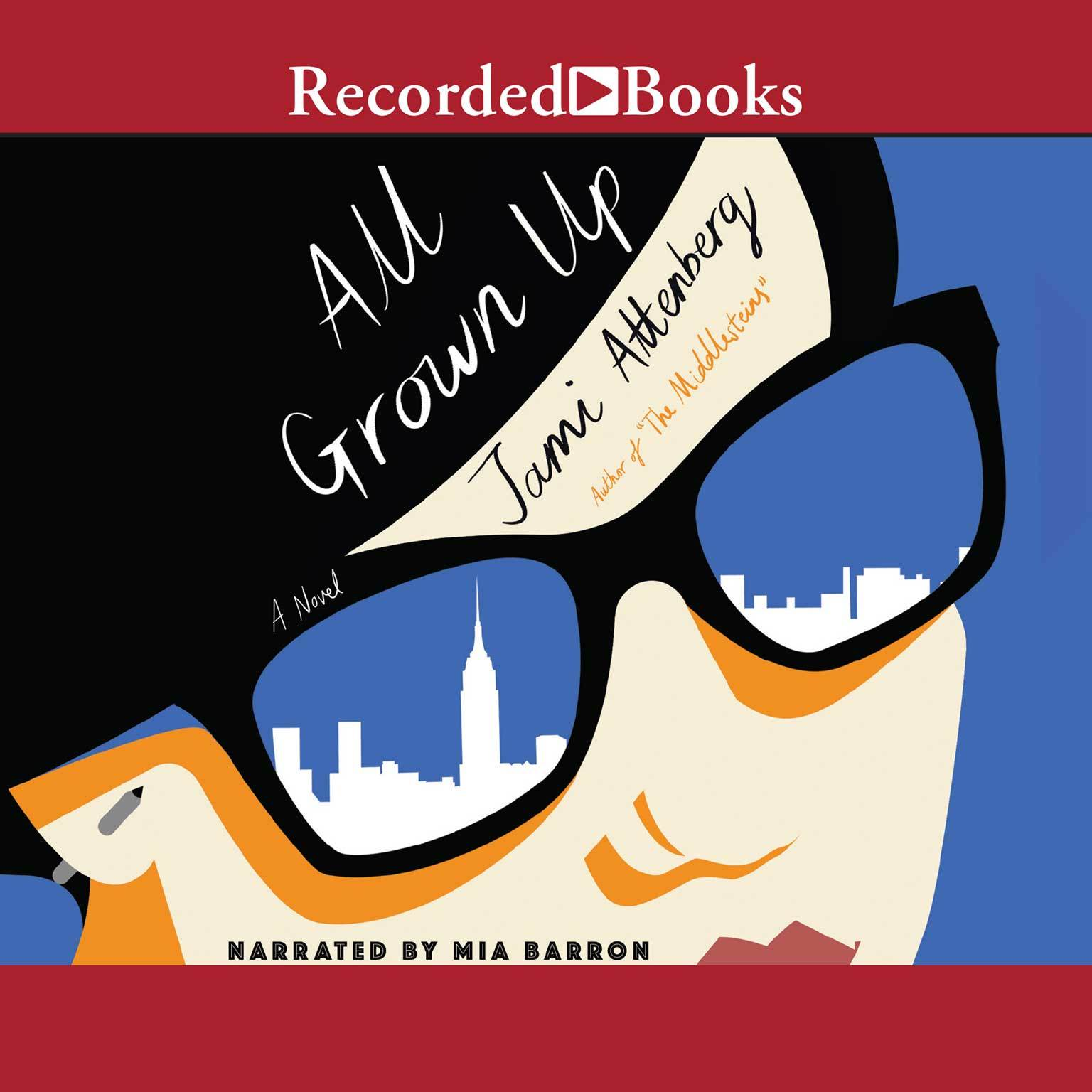 Printable All Grown Up Audiobook Cover Art