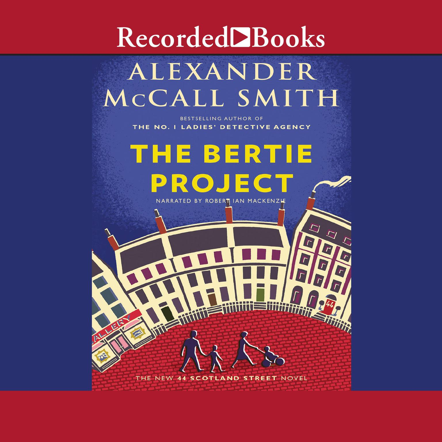 Printable The Bertie Project Audiobook Cover Art