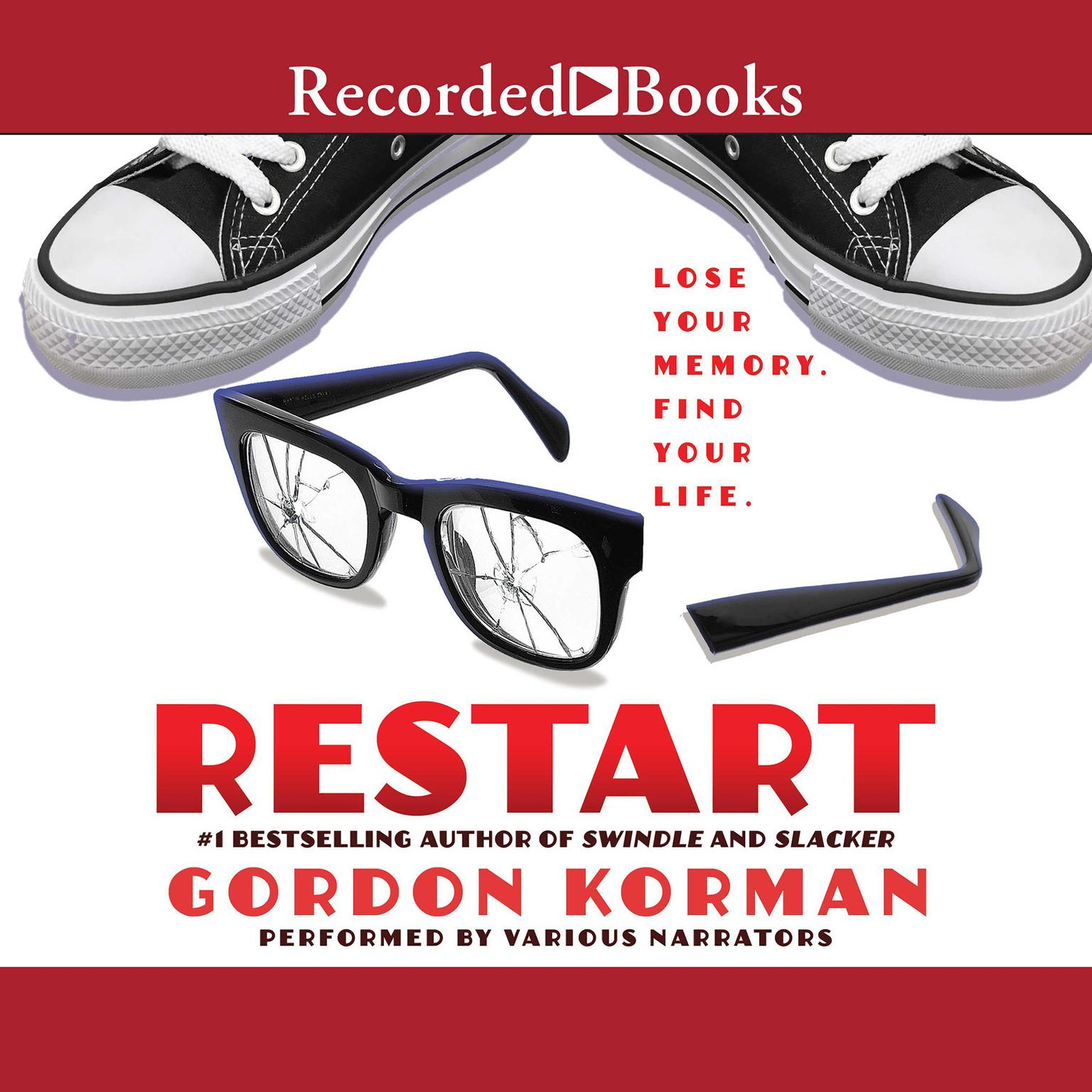 Printable Restart Audiobook Cover Art