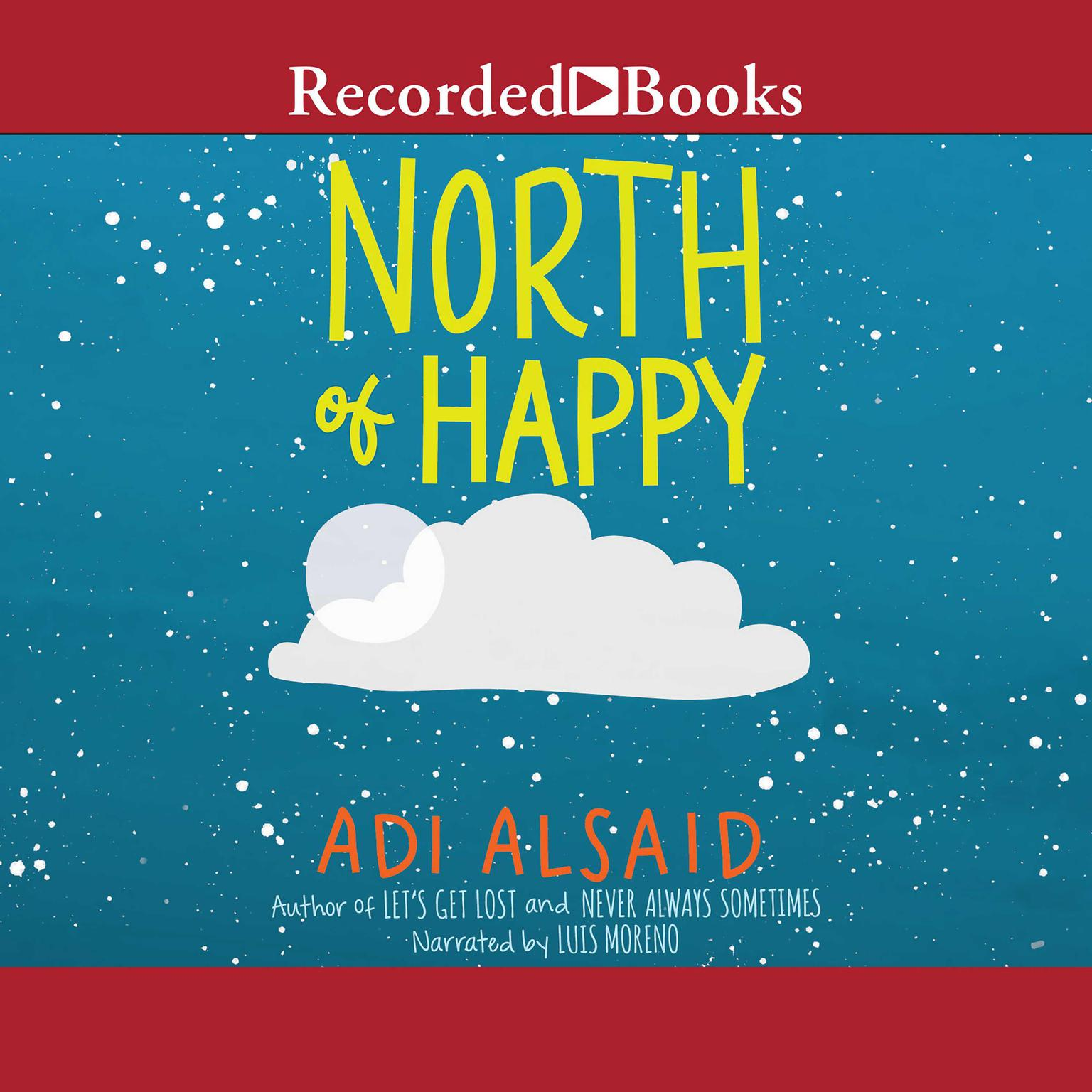Printable North of Happy Audiobook Cover Art