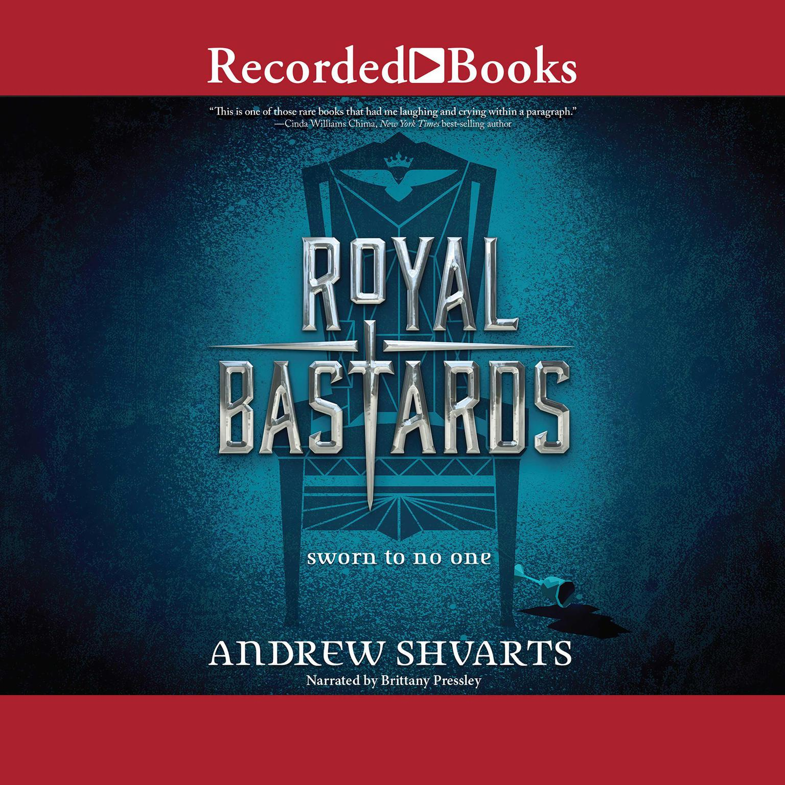 Printable Royal Bastards Audiobook Cover Art